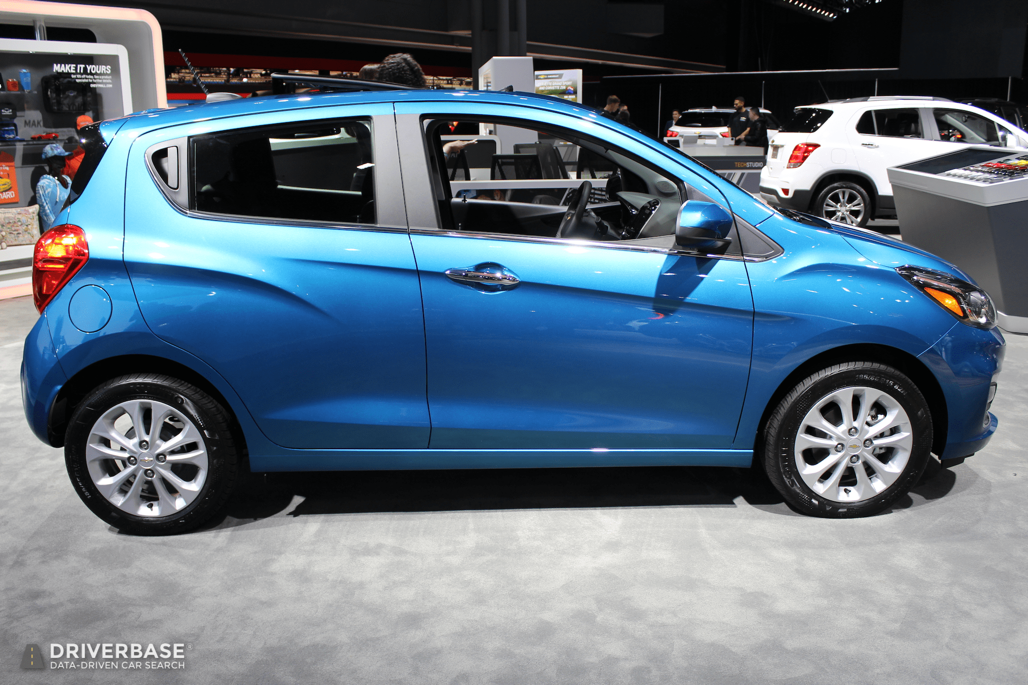 2019 Chevrolet Spark at the 2019 New York Auto Show ...