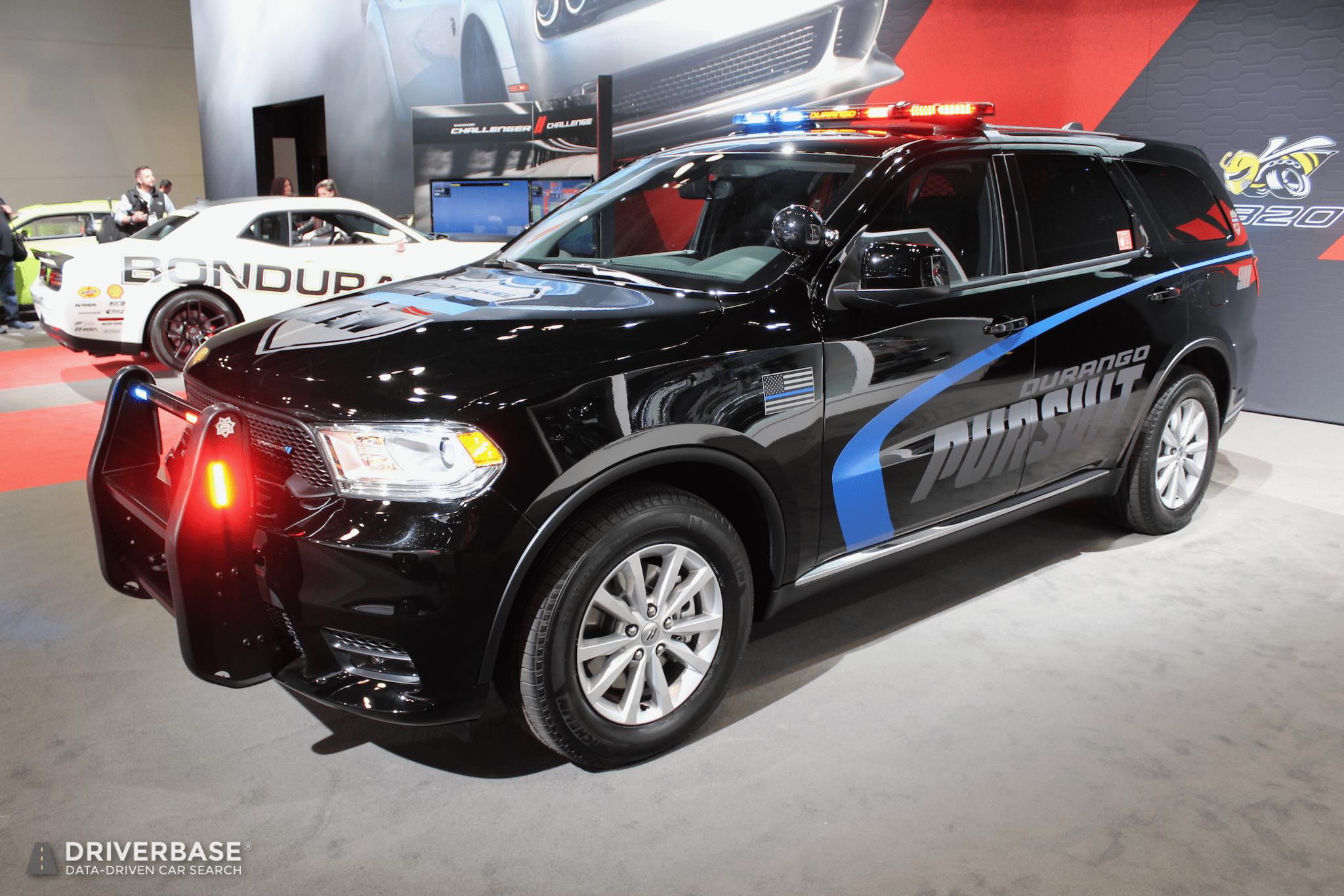 2019 Dodge Durango Pursuit Law Enforcement Suv At The 2019 New York Auto Show Driverbase