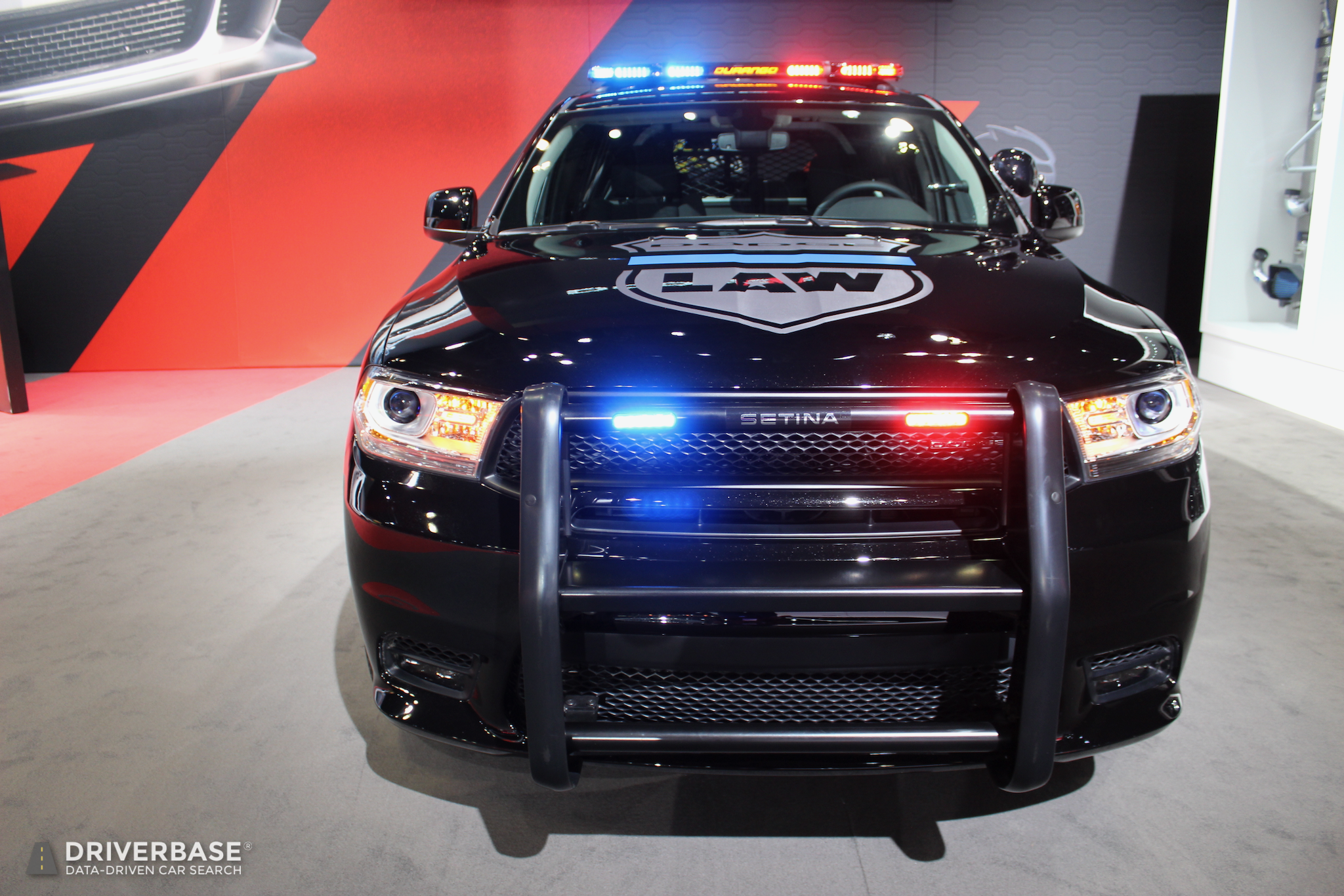 Police Cars For Sale >> 2019 Dodge Durango Pursuit Law Enforcement SUV at the 2019 New York Auto Show – Driverbase