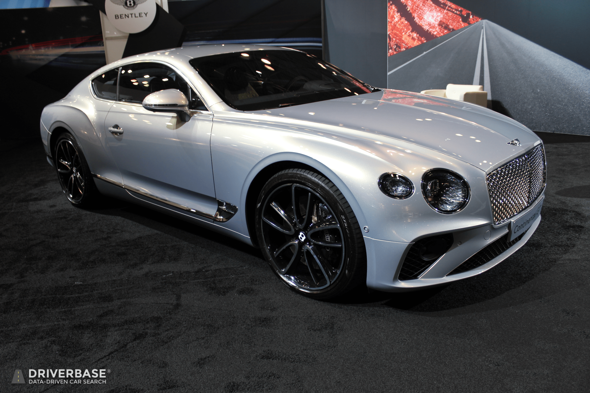 2020 Bentley Continental Gt At The At The 2019 New York Auto Show