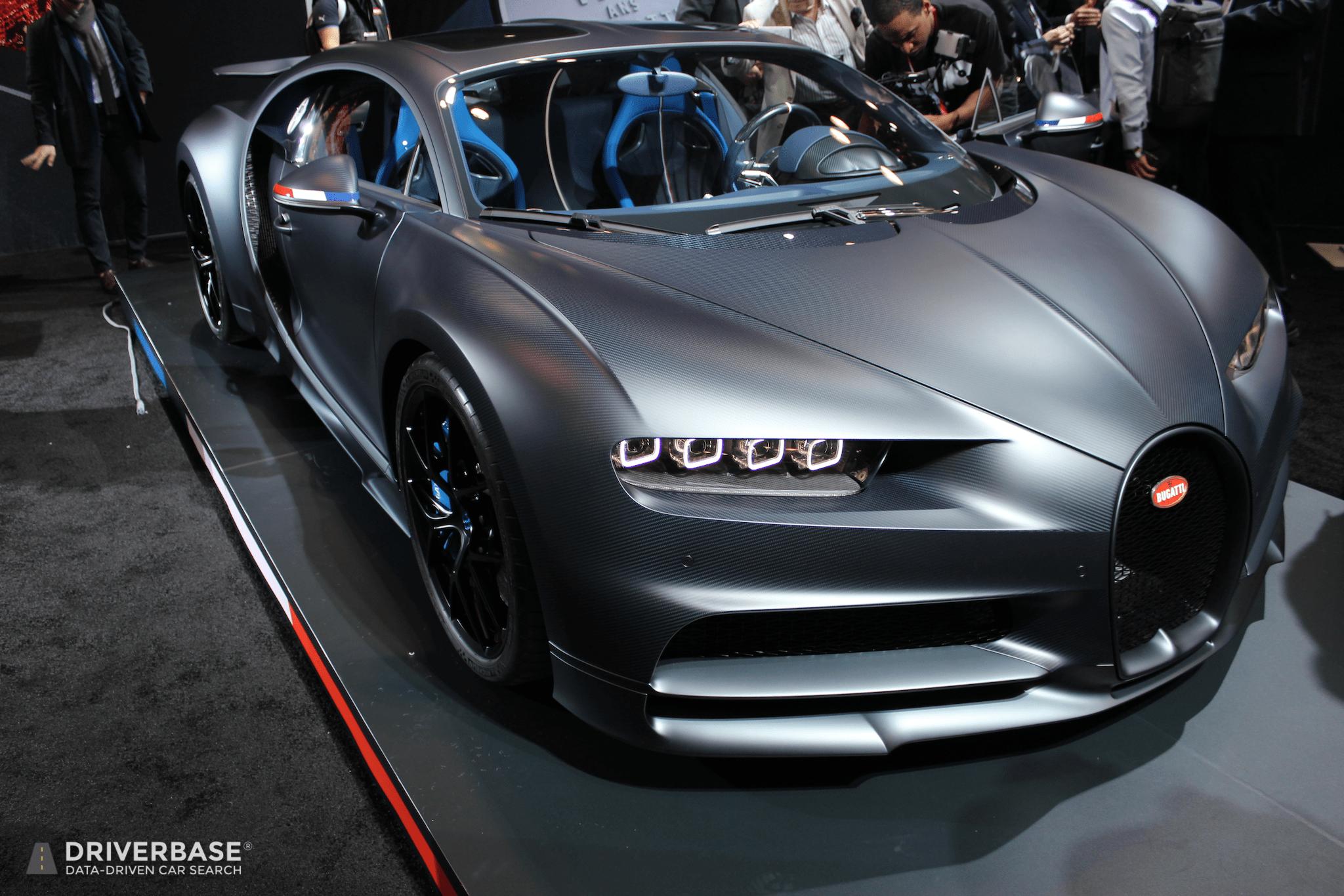 2020 Bugatti Chiron Sport 110 ans Bugatti at the 2019 New York Auto Show - Driverbase
