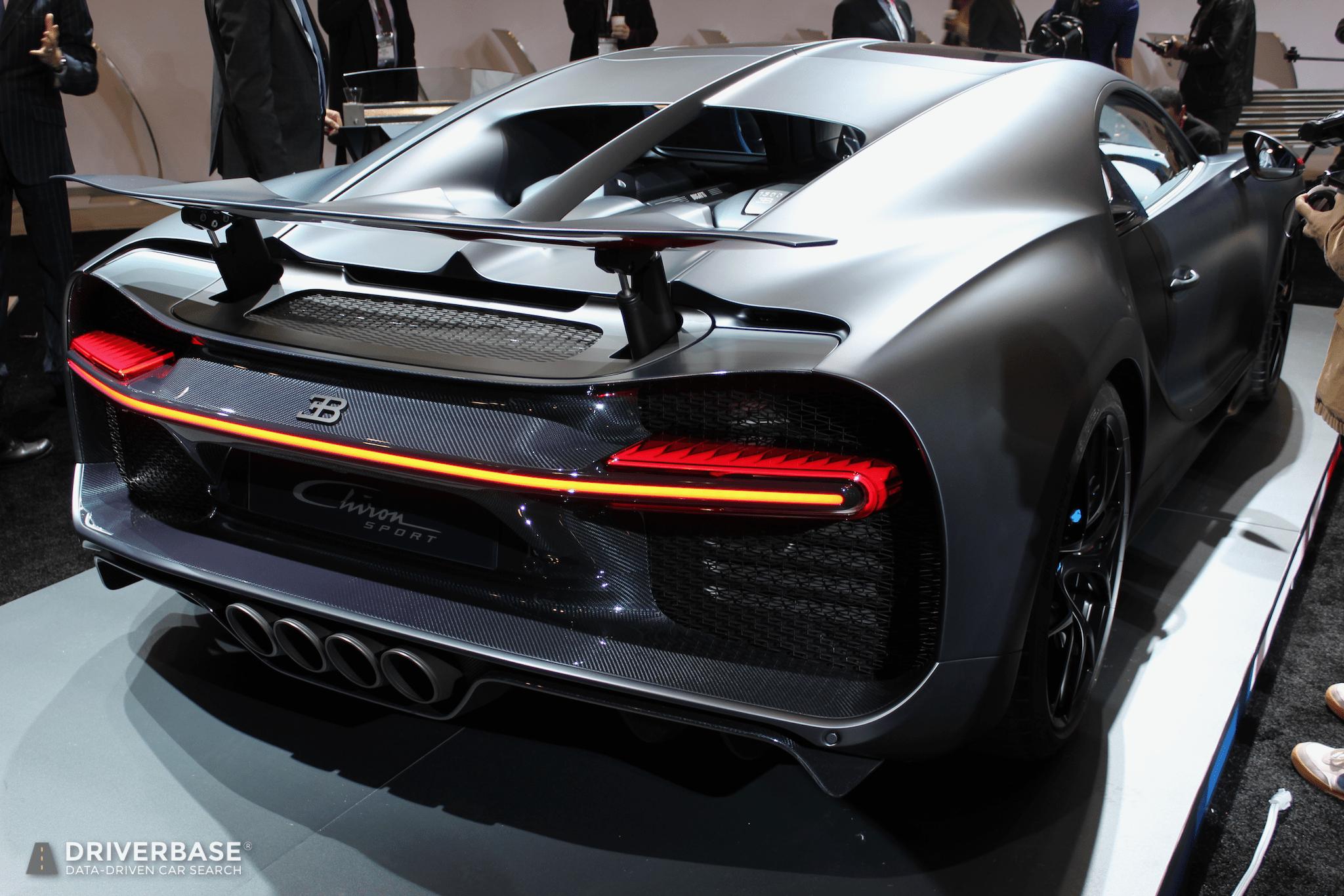 2020 Bugatti Chiron Sport 110 ans Bugatti at the 2019 New ...