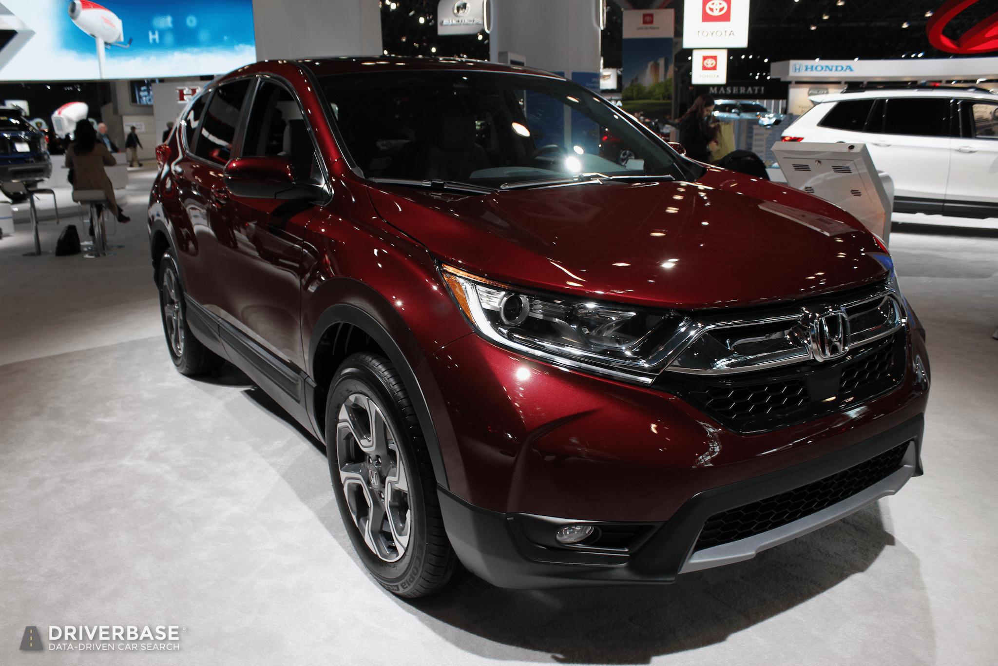 New Honda Suv >> 2020 Honda Crv Suv At The 2019 New York Auto Show Driverbase