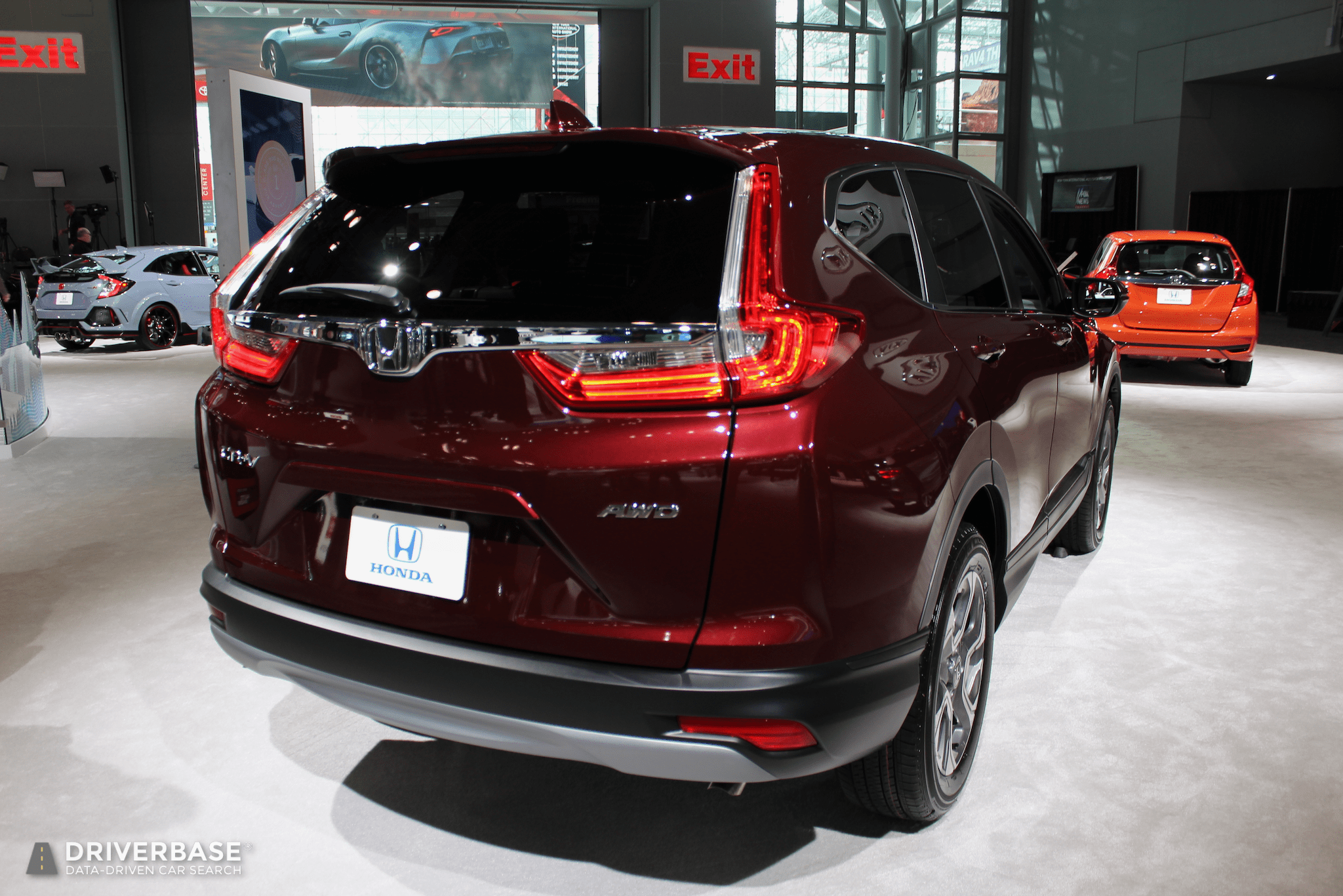 2020 Honda Crv Suv At The 2019 New York Auto Show Driverbase