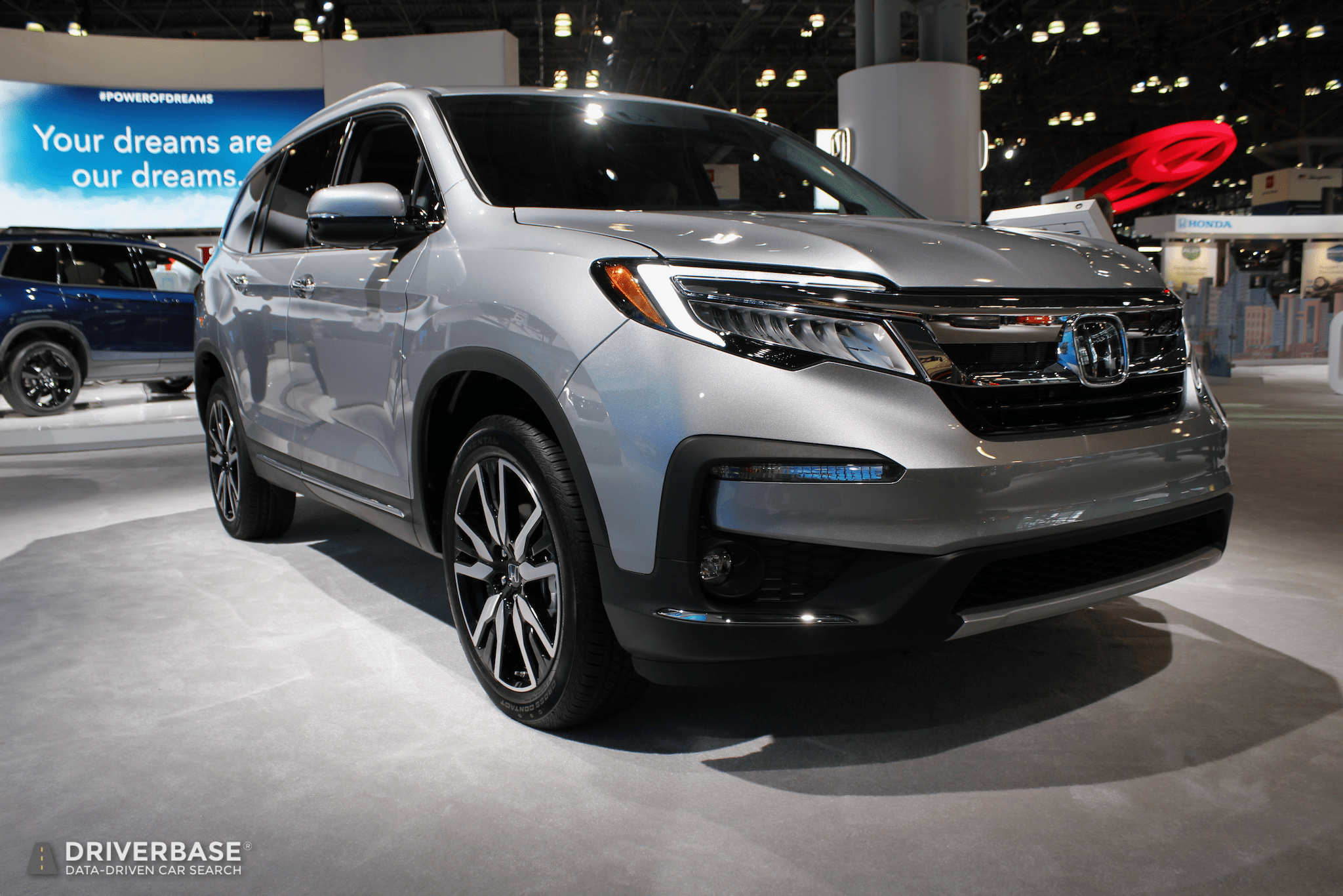 2020 Honda Pilot Suv At The 2019 New York Auto Show Driverbase