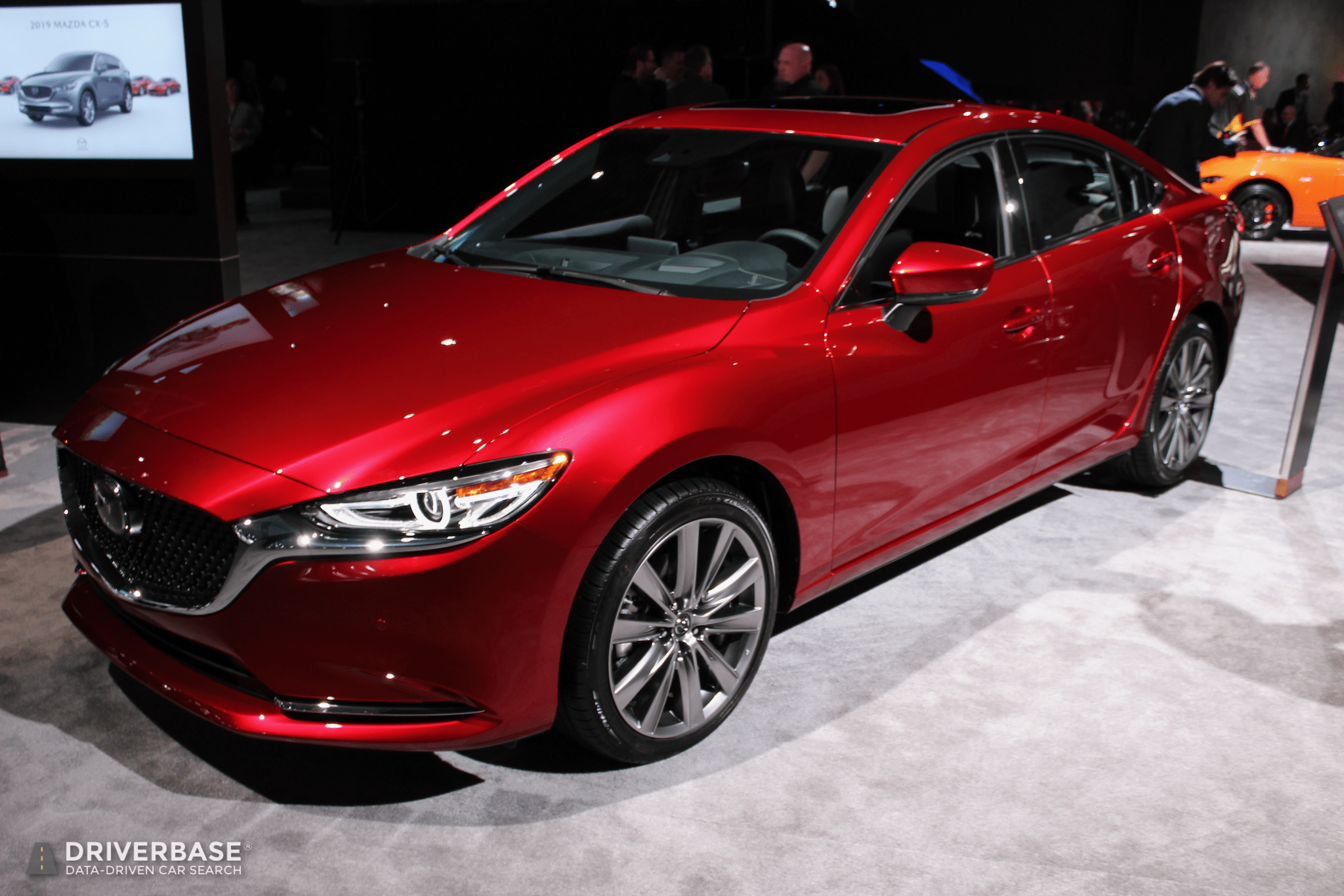 Used Car Dealer >> 2020 Mazda 6 at the 2019 New York Auto Show – Driverbase