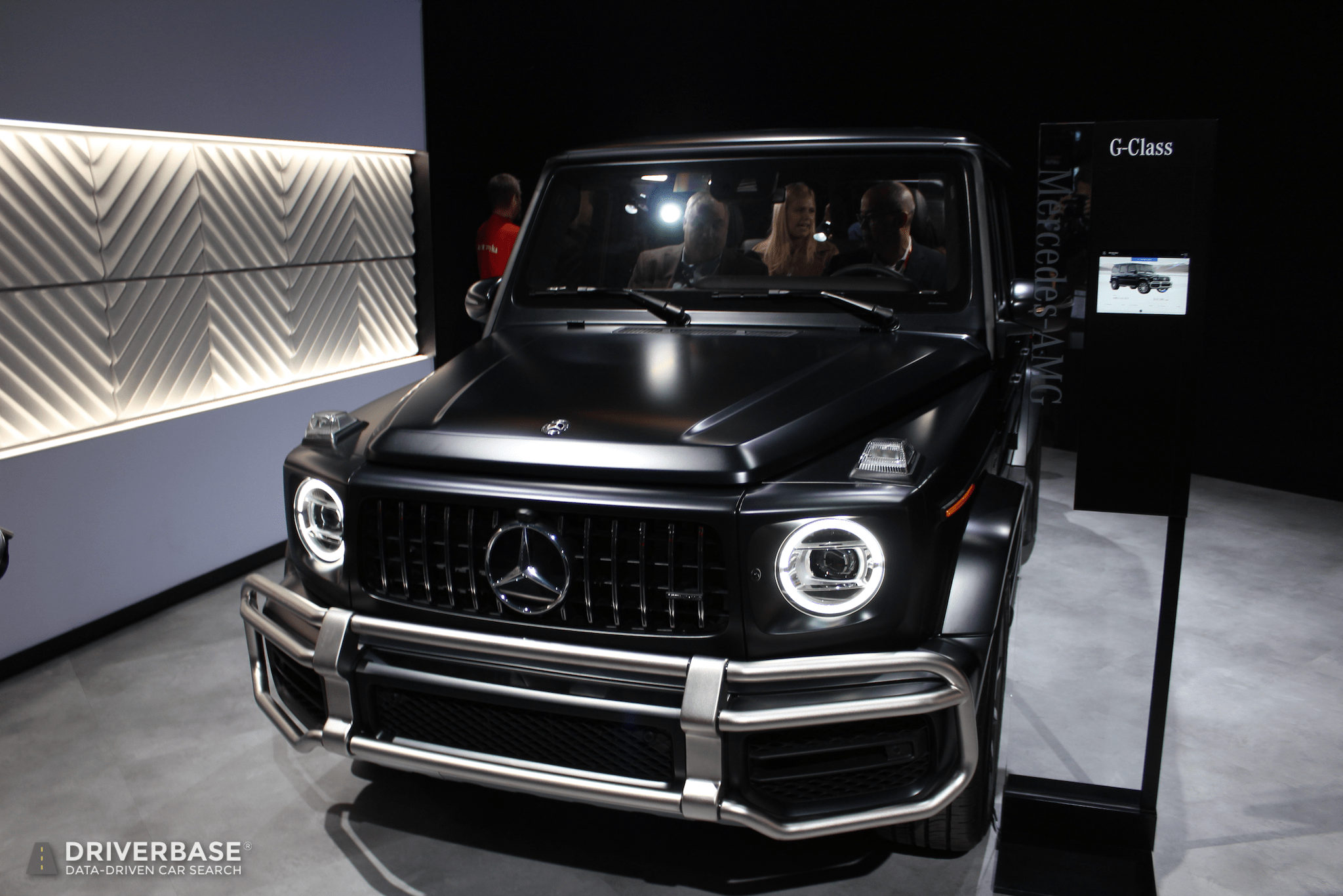 2020 Mercedes Benz Amg G Class Suv At The 2019 New York