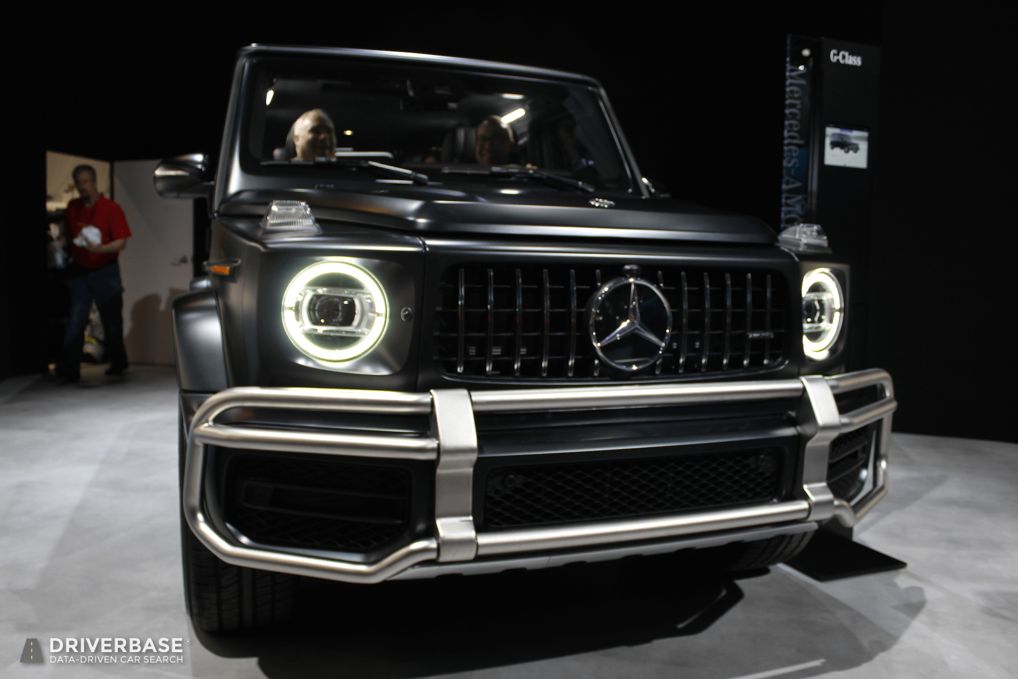 2020 Mercedes Benz Amg G Class Suv At The 2019 New York Auto Show Driverbase