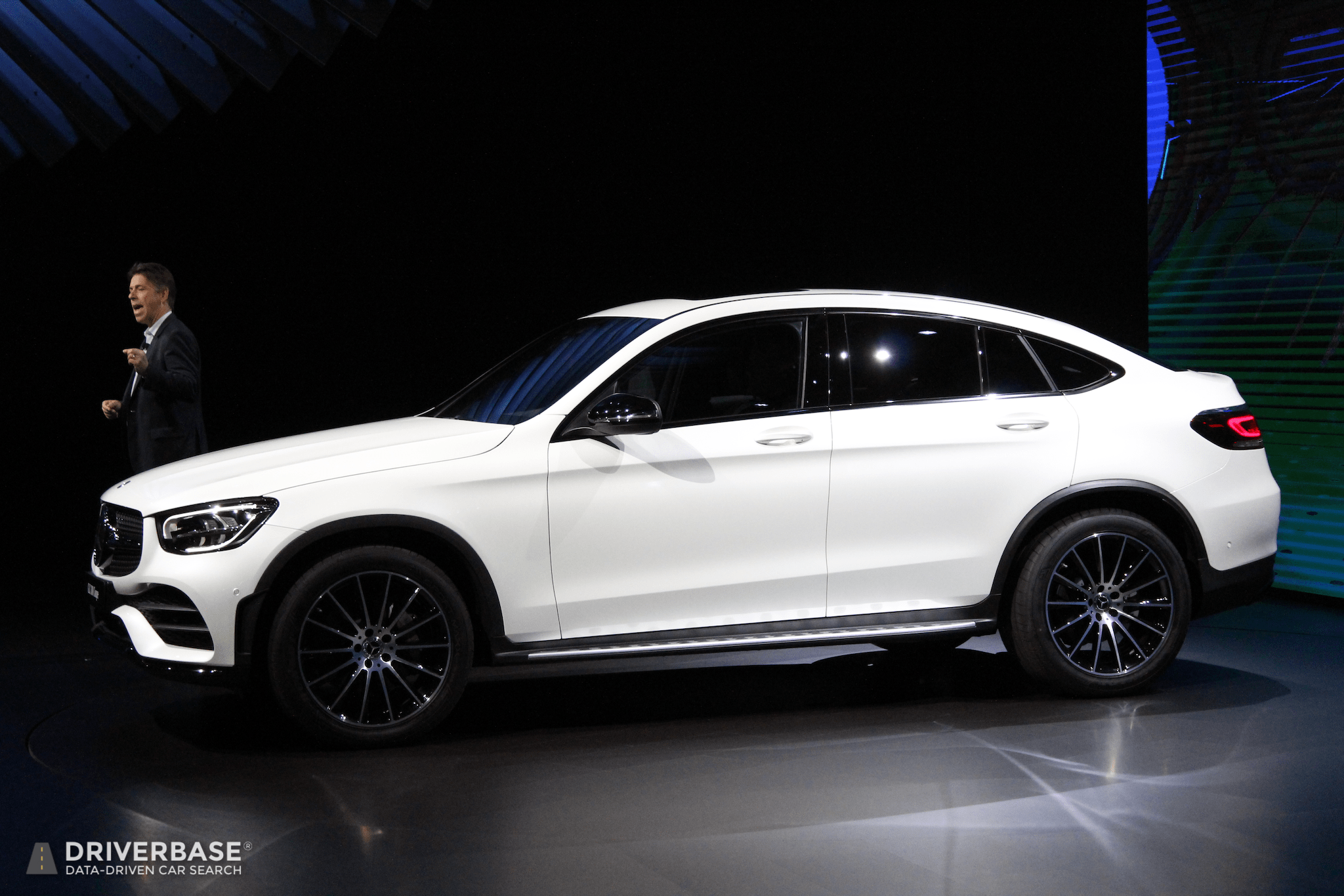 2020 Mercedes-Benz GLC 300 Coupe at the 2019 New York Auto ...