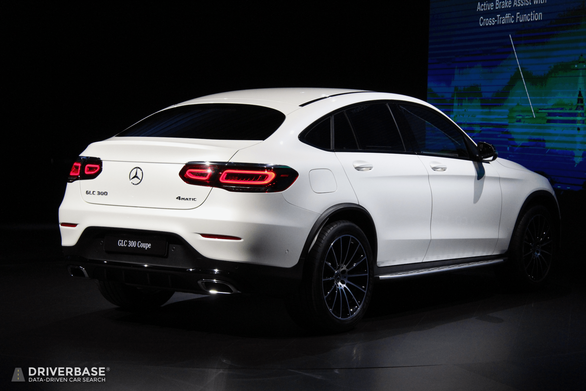 2020 Mercedes Benz Glc 300 Coupe At The 2019 New York Auto