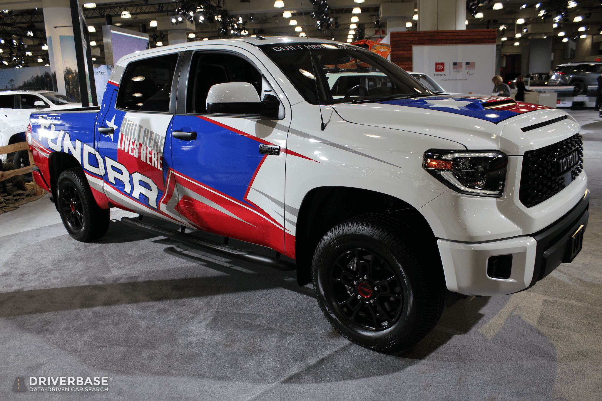 2020 Toyota Tundra Trd Pro At The 2019 New York Auto Show Driverbase