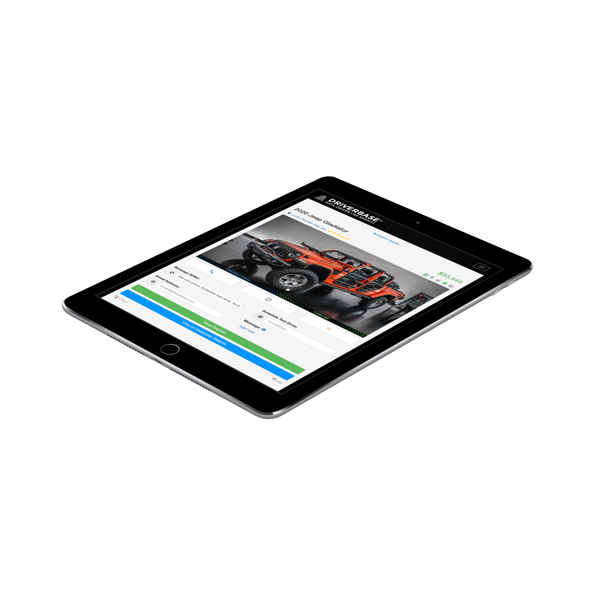 New and Used Cars for Sale on the Driverbase Marketplace