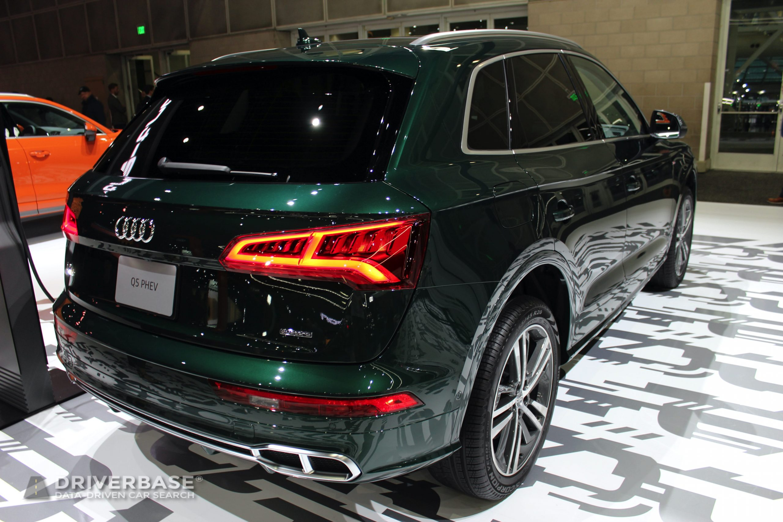 2020 Audi Q5 PHEV Quattro at the 2019 Los Angeles Auto Show
