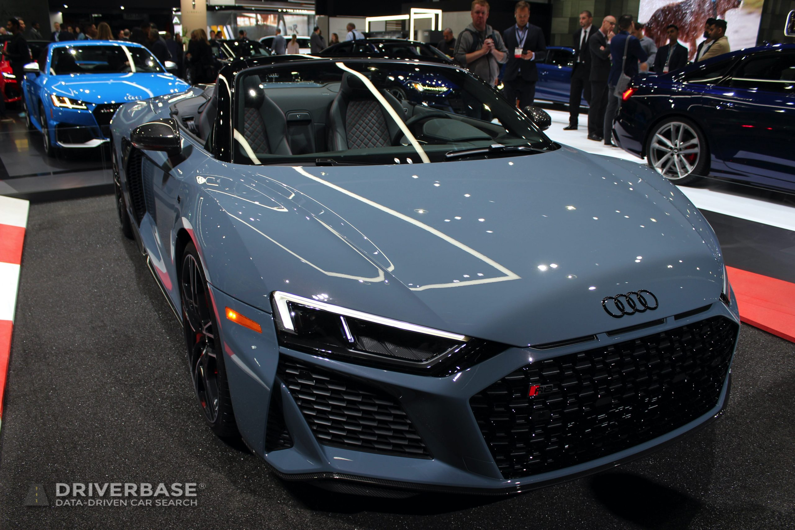 2020 Audi R8 V10 Performance Spyder at the 2019 Los Angeles Auto Show