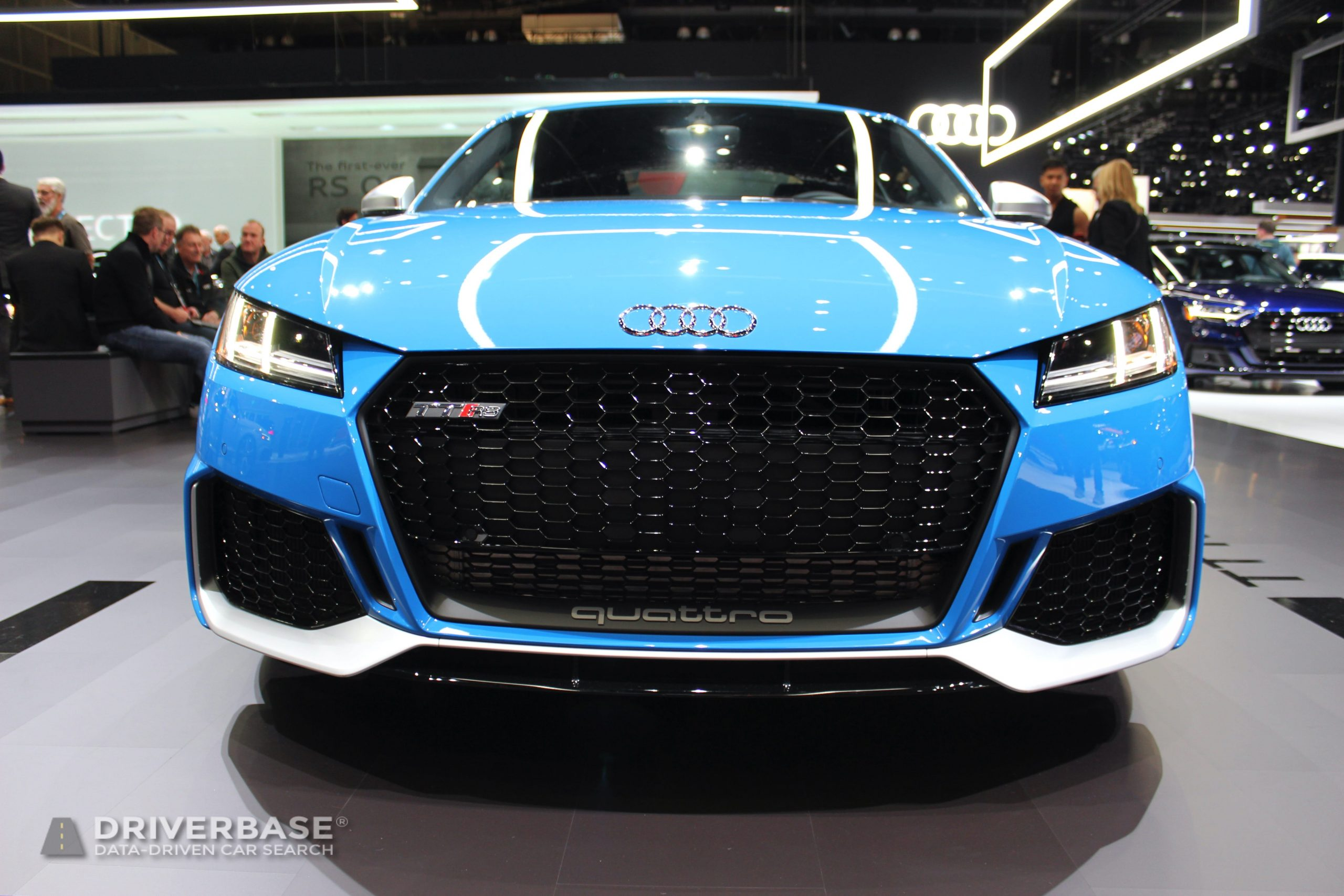 2020 Audi TT RS at the 2019 Los Angeles Auto Show