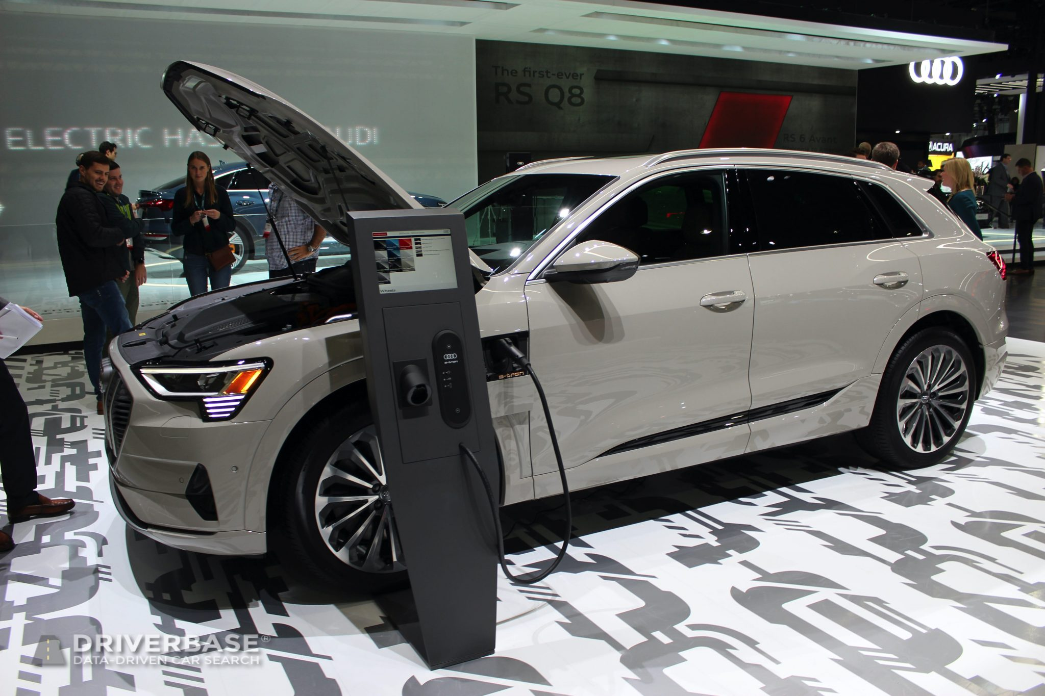 2020 Audi e-tron Quattro at the 2019 Los Angeles Auto Show