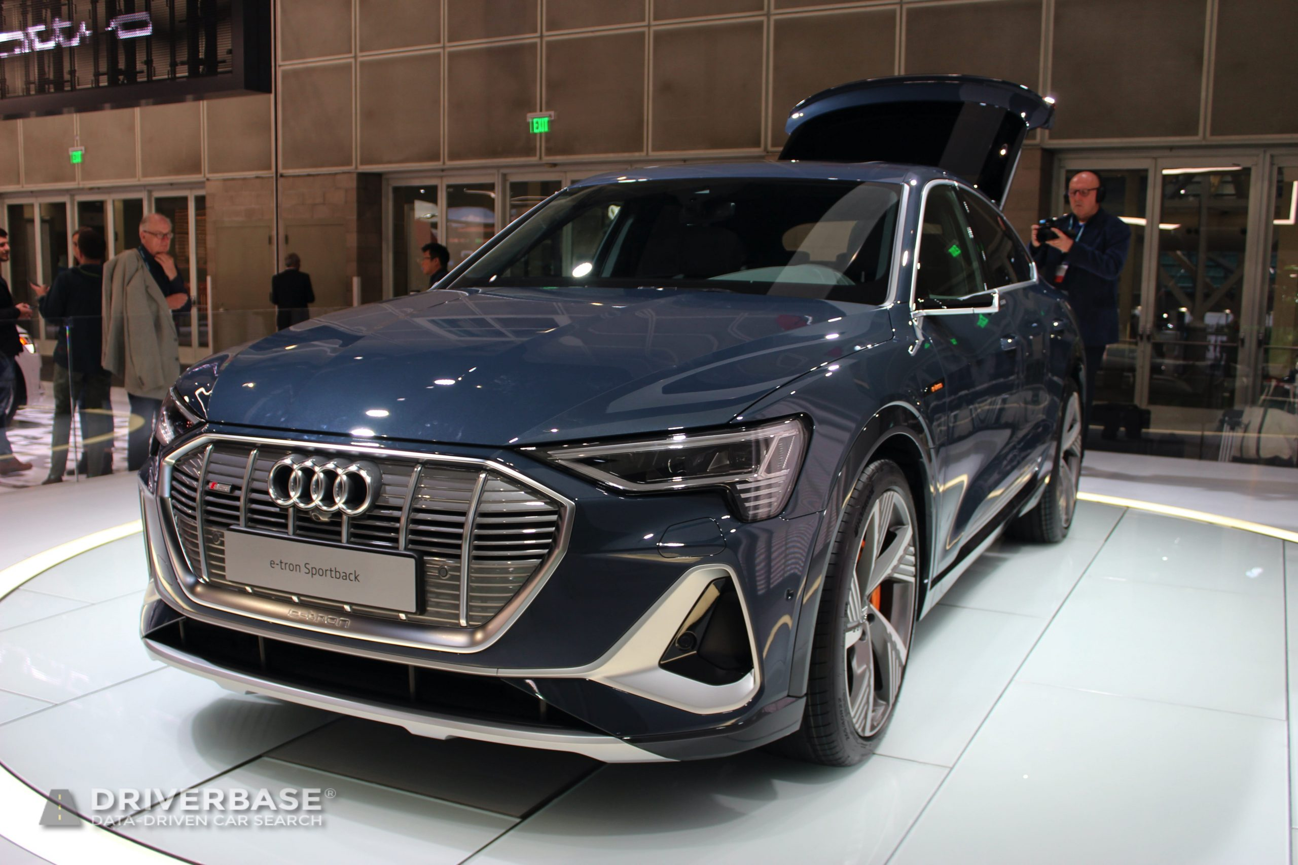 2020 Audi e-tron Sportback at the 2019 Los Angeles Auto Show