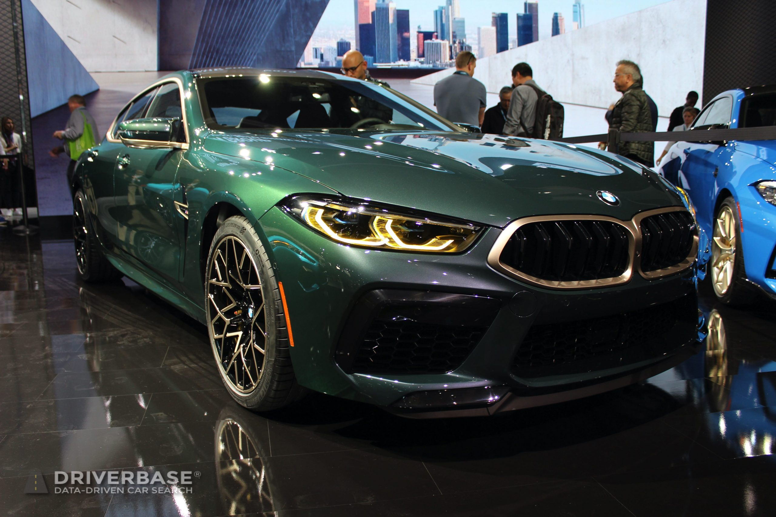 2020 BMW M8 Competition Gran Coupe at the 2019 Los Angeles Auto Show