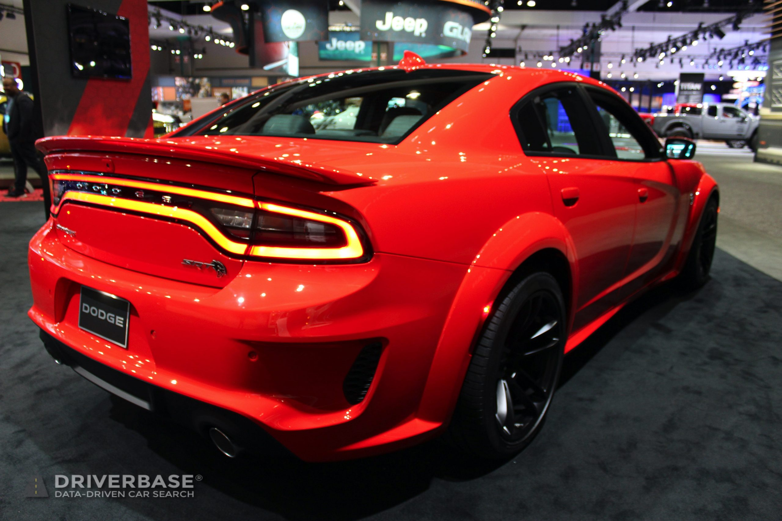 2020 Dodge Charger SRT Hellcat at the 2019 Los Angeles Auto Show