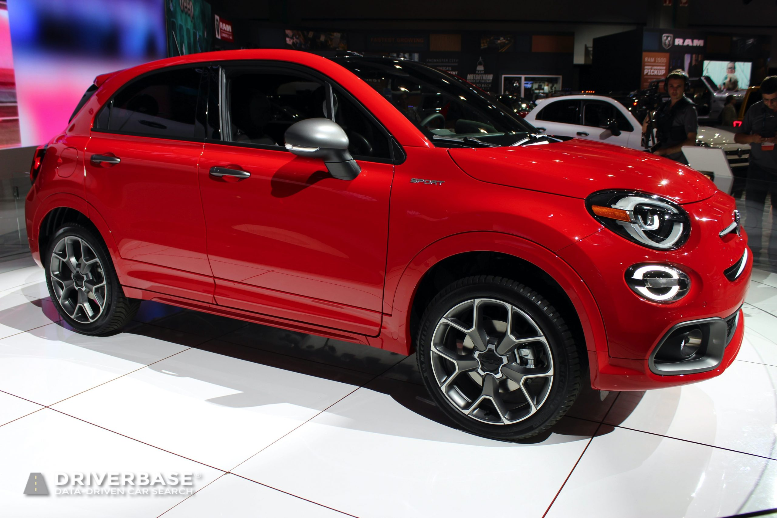 2020 Fiat 500X Sport at the 2019 Los Angeles Auto Show