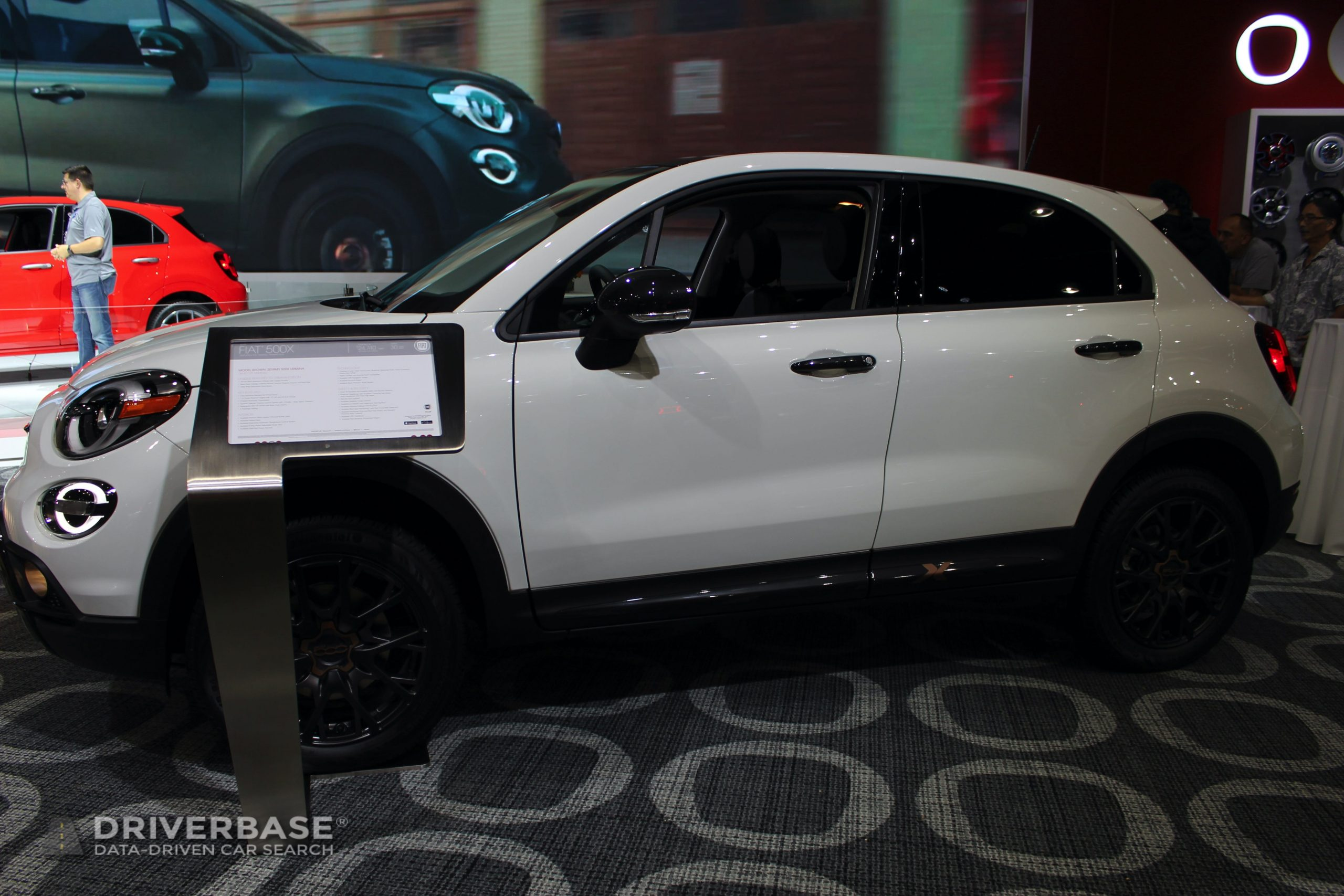 2020 Fiat 500X at the 2019 Los Angeles Auto Show