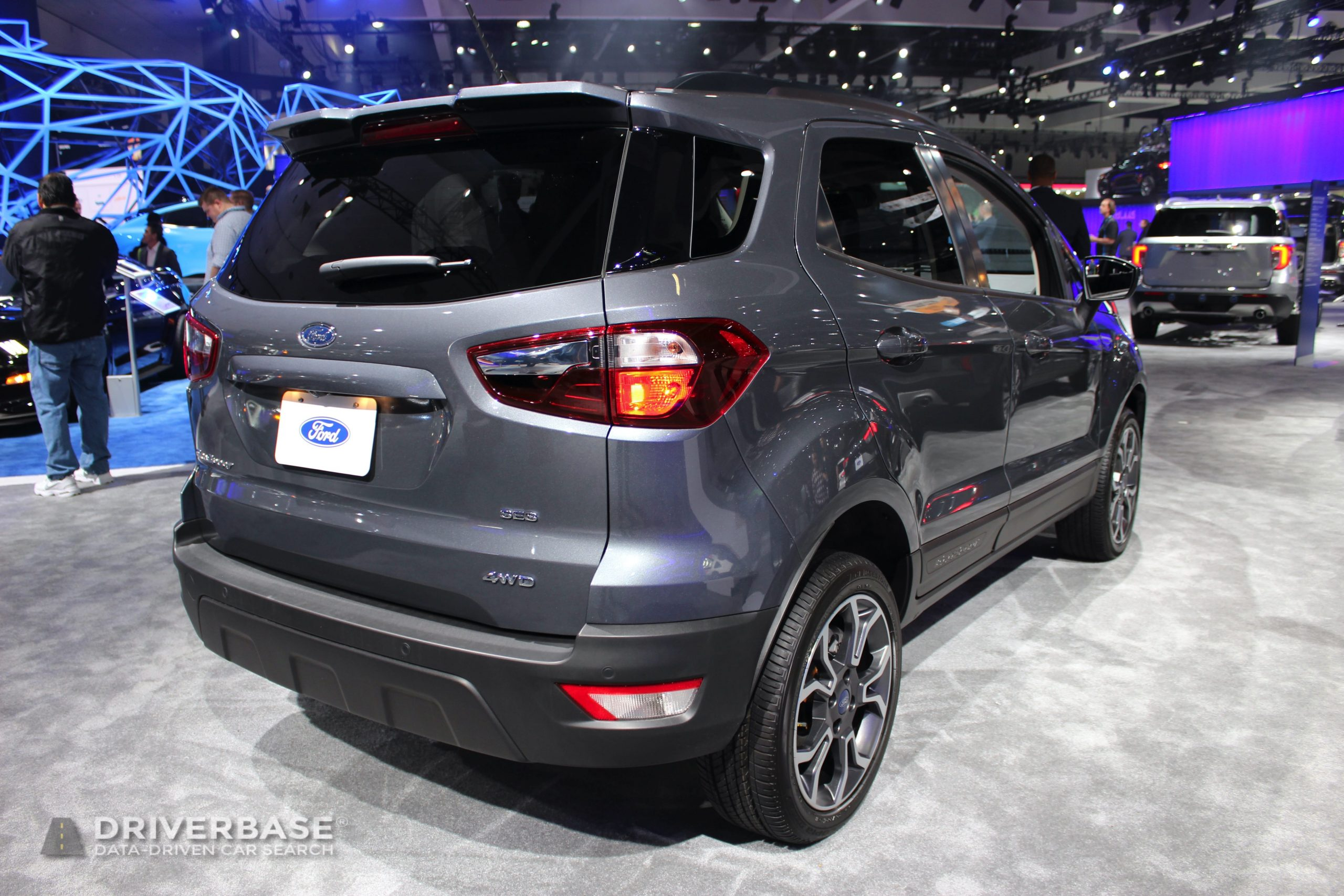 2020 Ford EcoSport SES 4WD at the 2019 Los Angeles Auto Show
