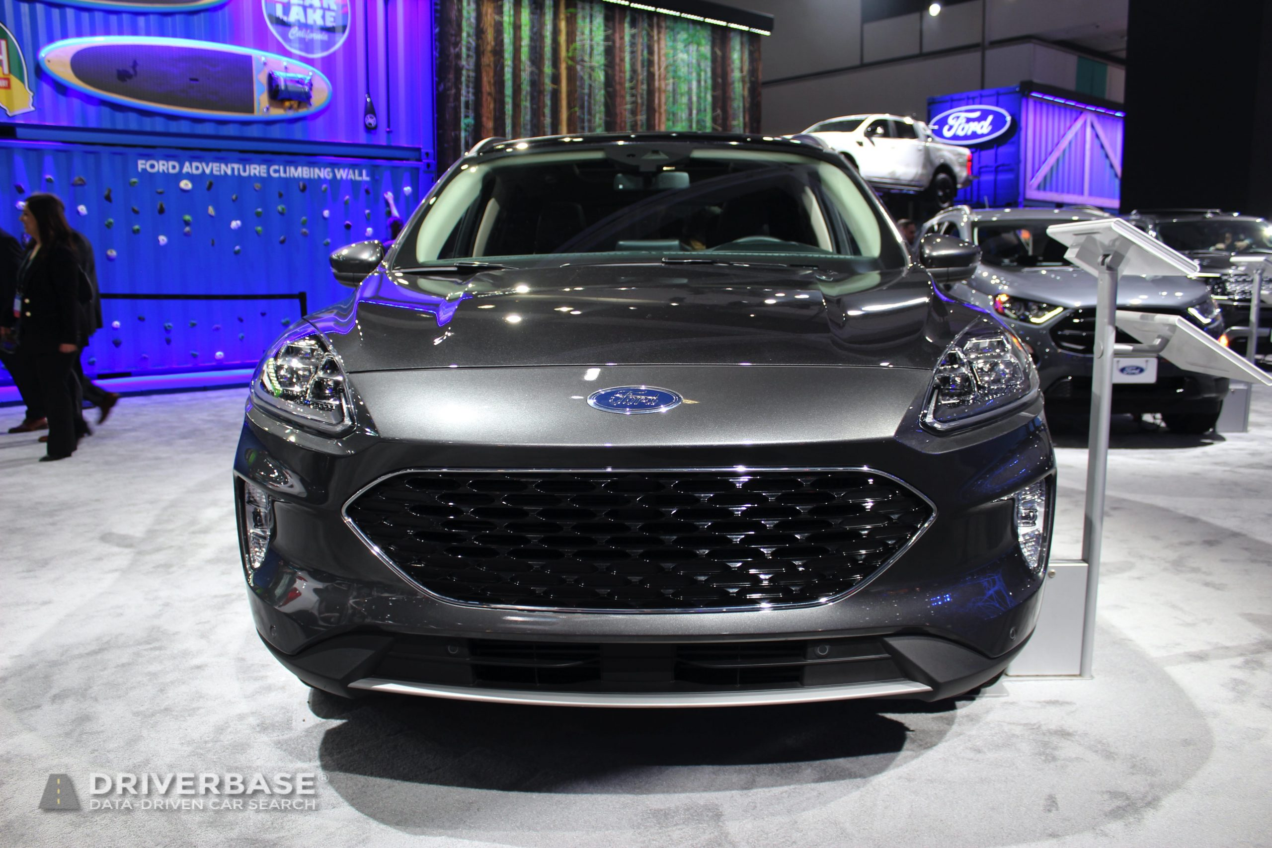 2020 Ford Escape All Wheel Drive at the 2019 Los Angeles Auto Show
