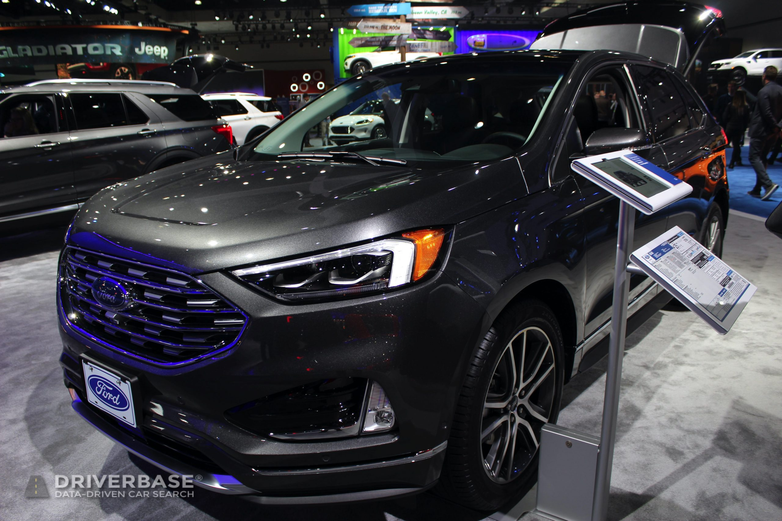 2020 Ford Escape at the 2019 Los Angeles Auto Show