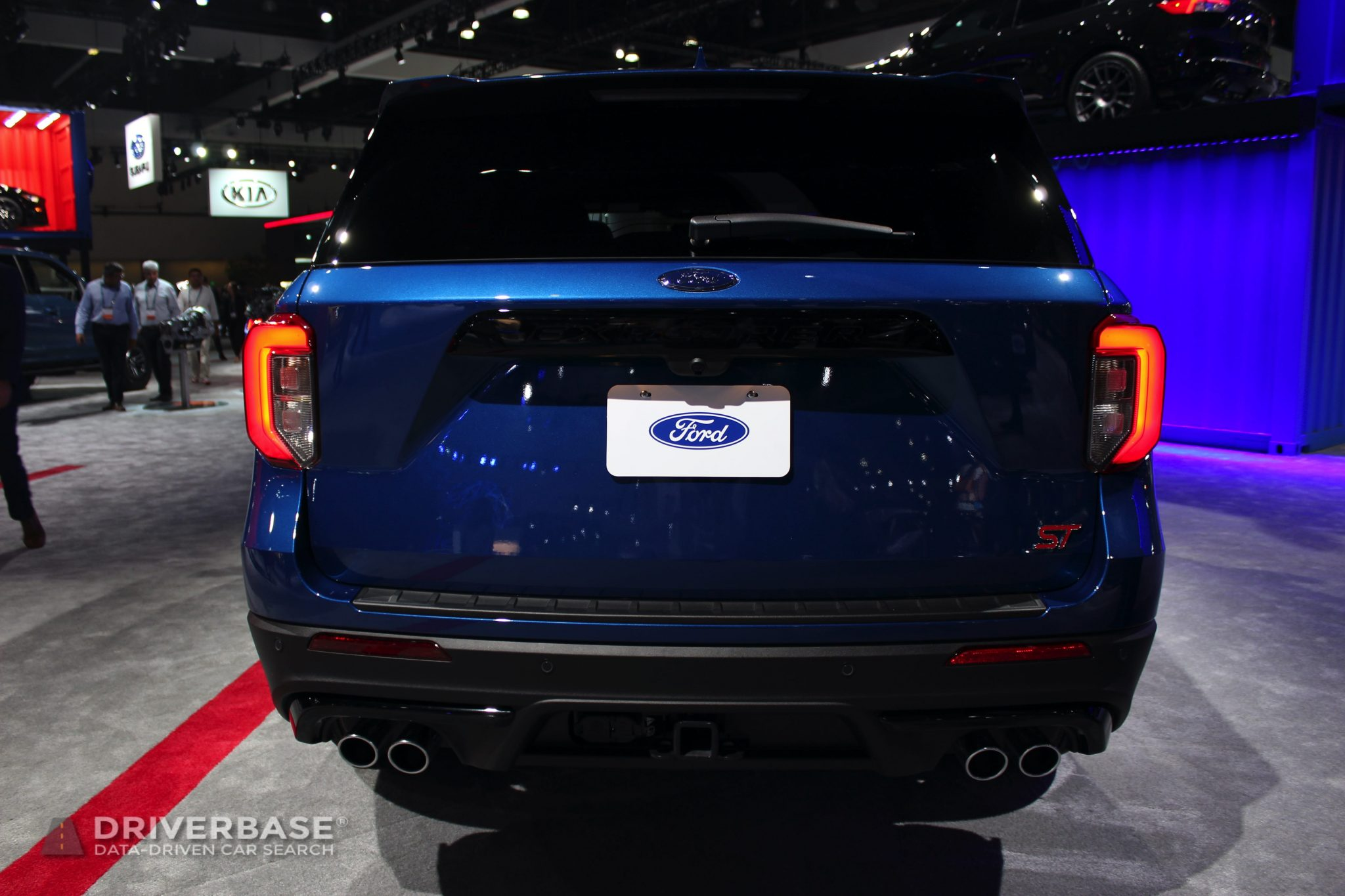 2020 Ford Explorer ST at the 2019 Los Angeles Auto Show