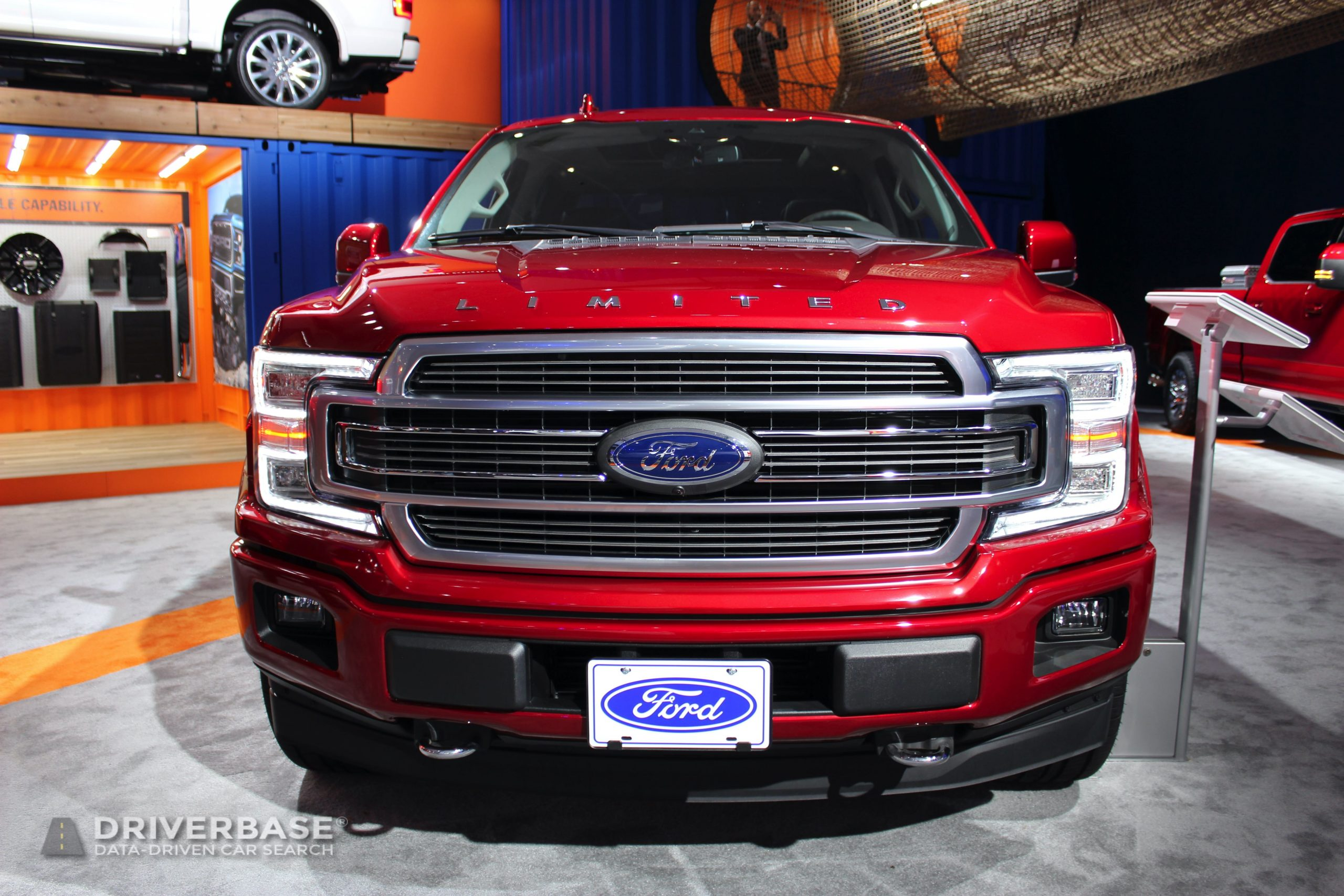 2020 Ford F-150 Limited at the 2019 Los Angeles Auto Show