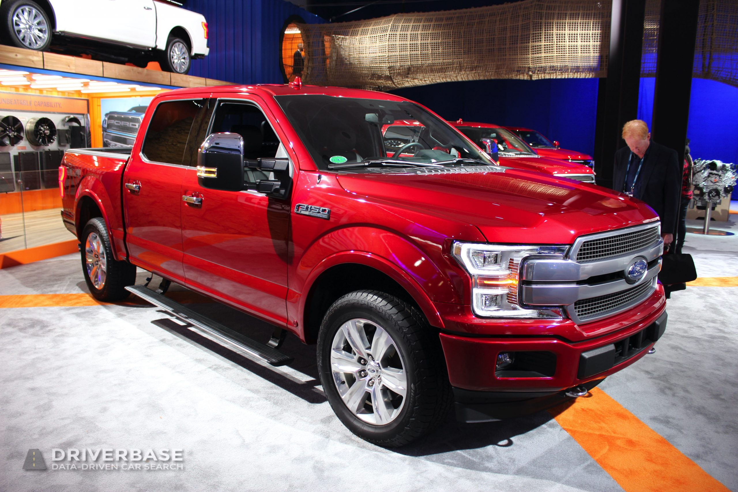 2020 Ford F-150 Platinum at the 2019 Los Angeles Auto Show