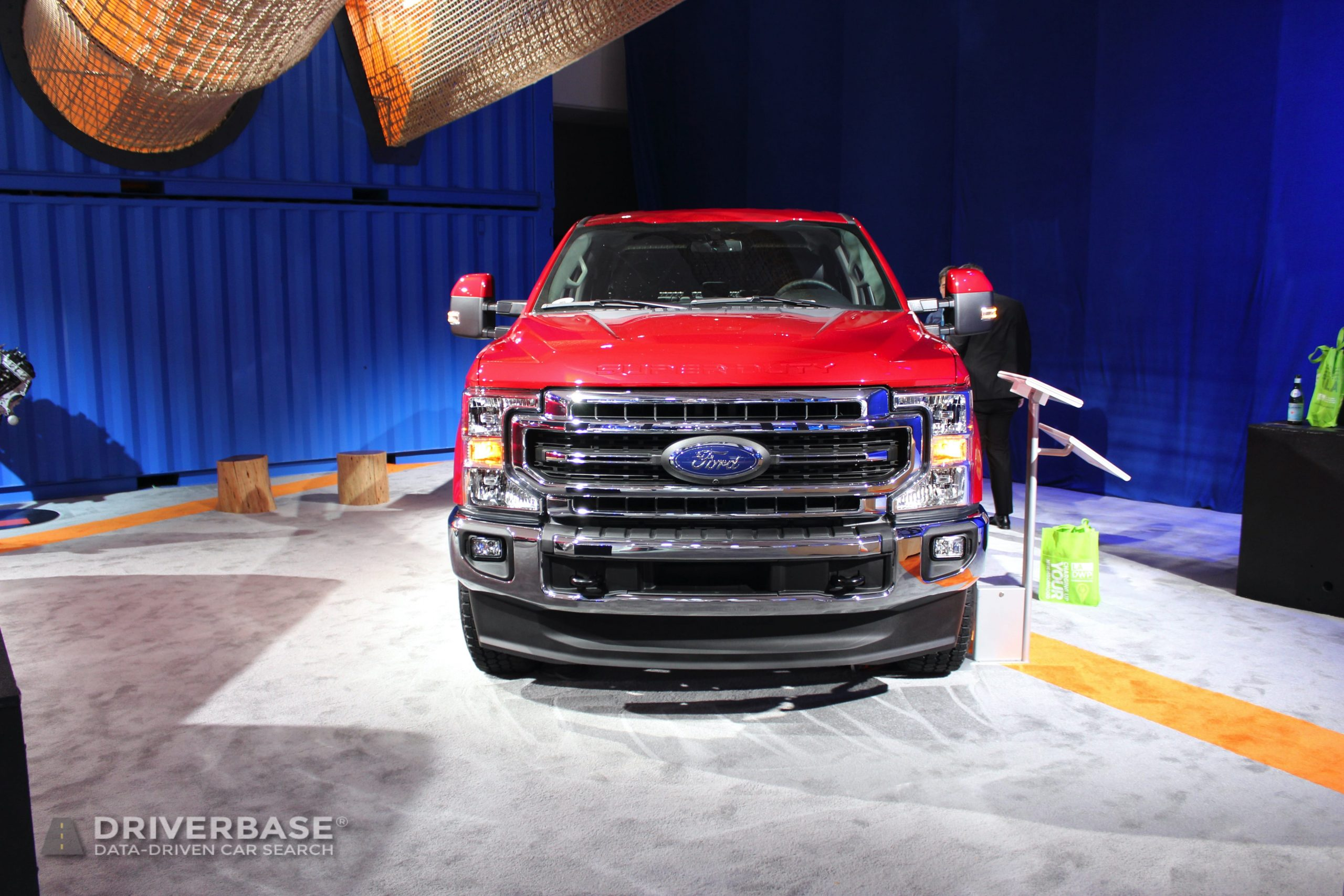 2020 Ford F-250 Super Duty Lariat at the 2019 Los Angeles Auto Show