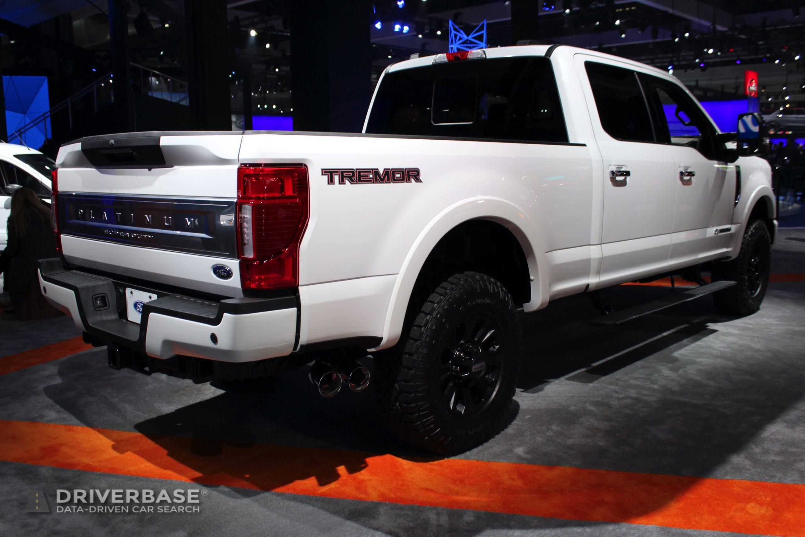 2020 Ford F-250 Super Duty Platinum Tremor at the 2019 Los Angeles Auto Show