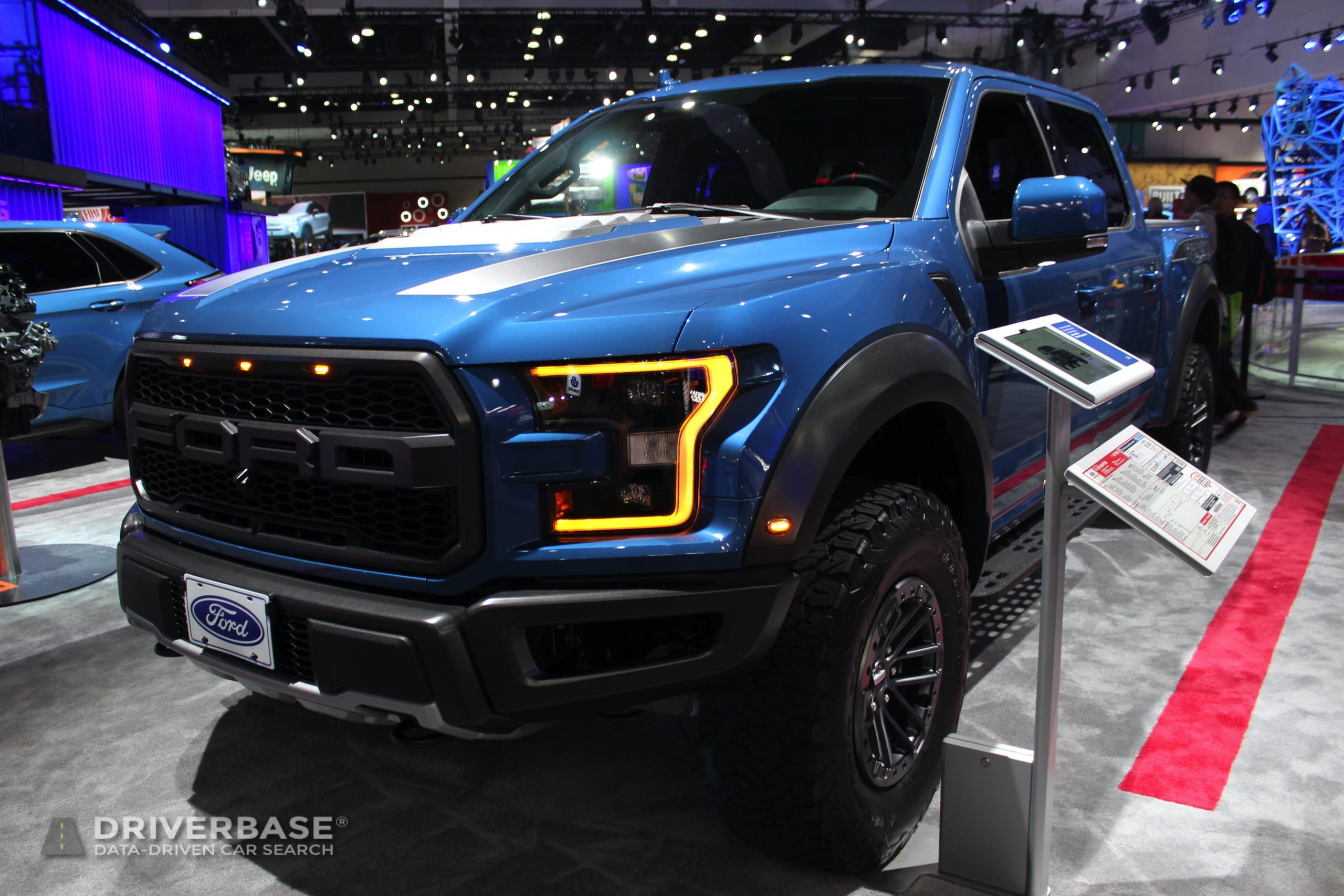 2020 Ford F150 Raptor at the 2019 Los Angeles Auto Show