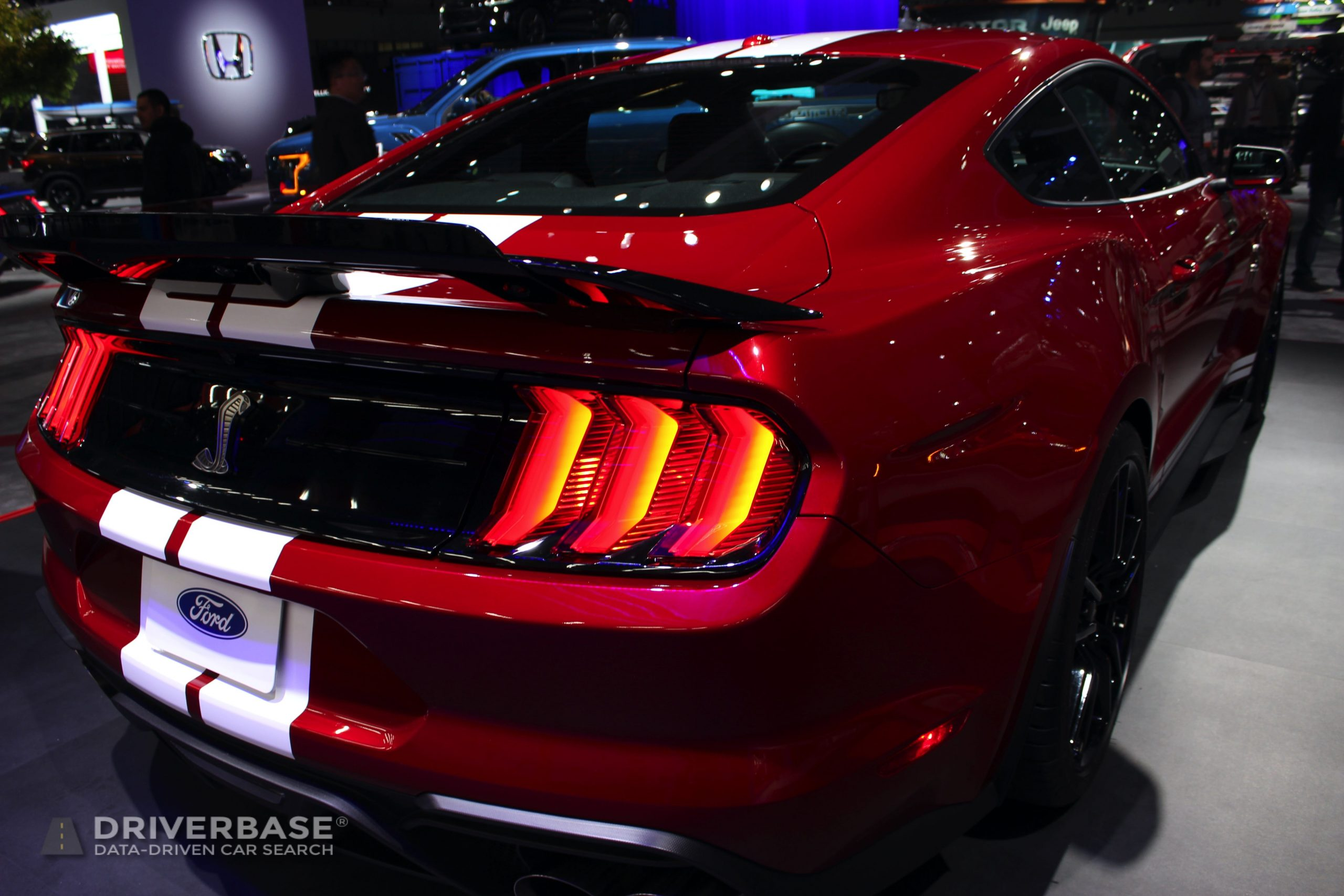 2020 Ford Mustang Shelby GT500 at the 2019 Los Angeles Auto Show