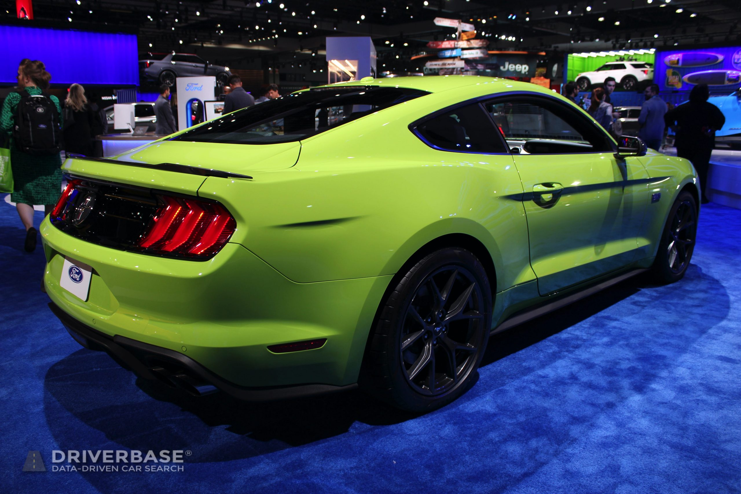 2020 Ford Mustang at the 2019 Los Angeles Auto Show