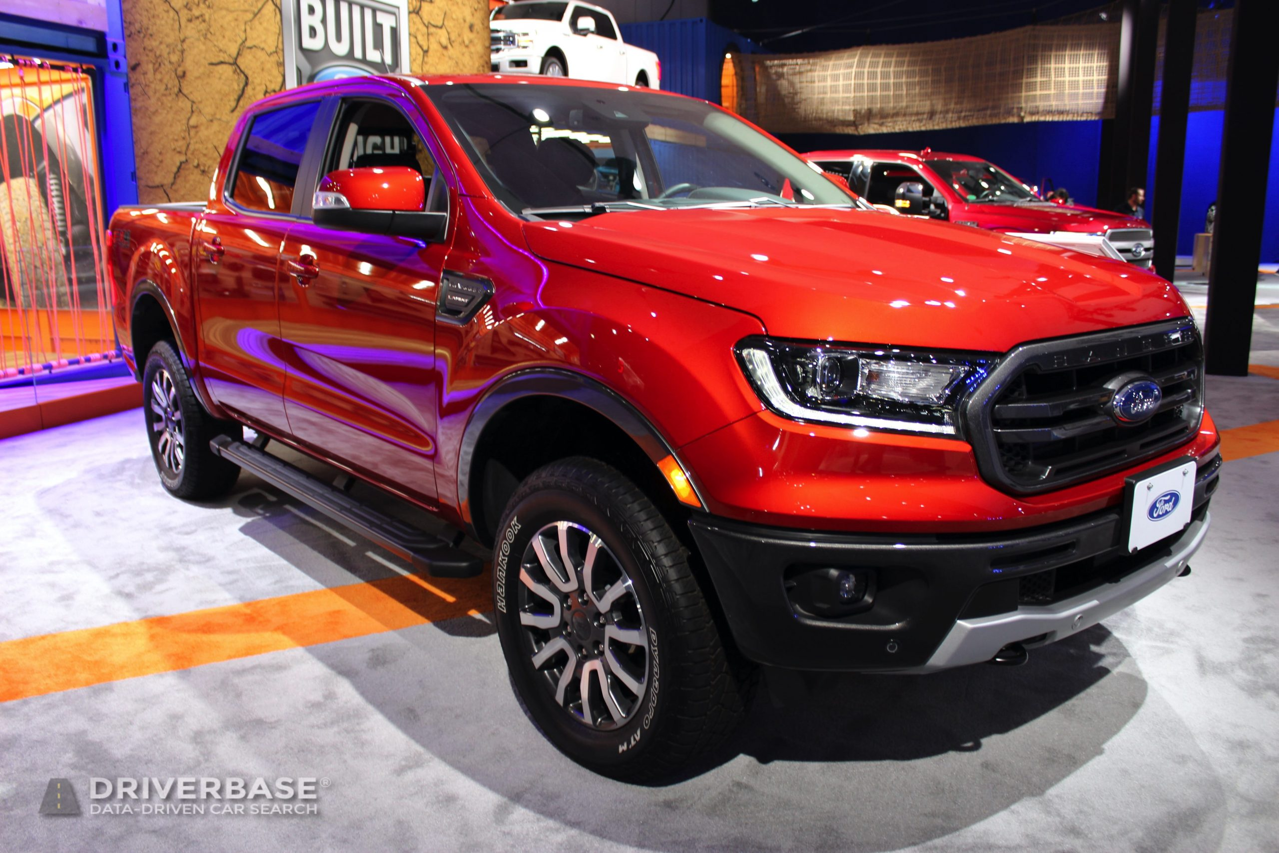 2020 Ford Ranger FX4 Off Road at the 2019 Los Angeles Auto Show