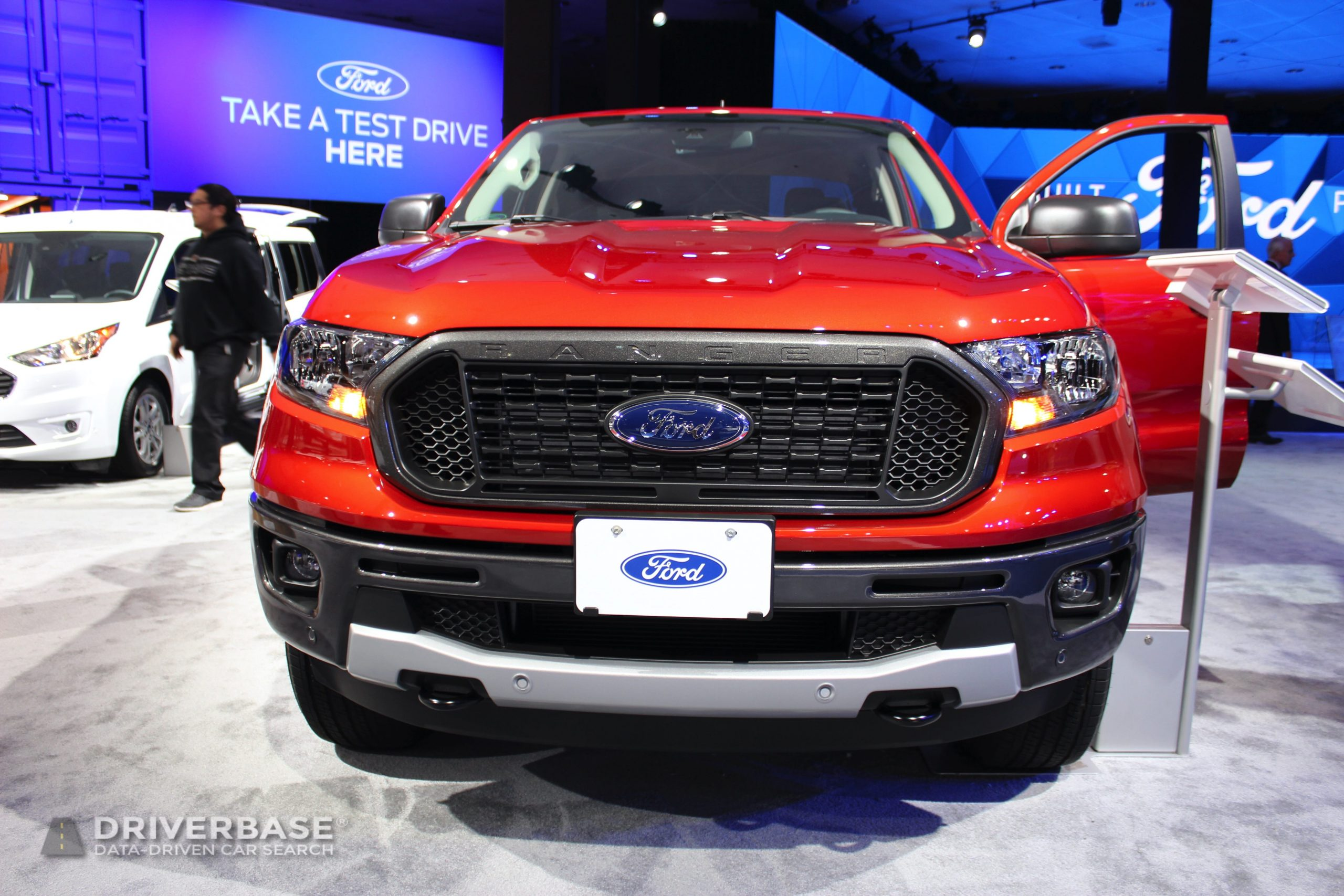 2020 Ford Ranger at the 2019 Los Angeles Auto Show