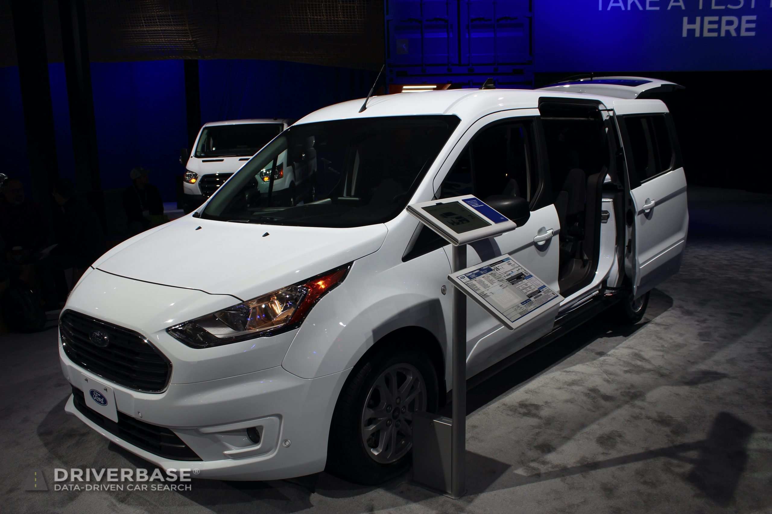 2020 Ford Transit Connect at the 2019 Los Angeles Auto Show