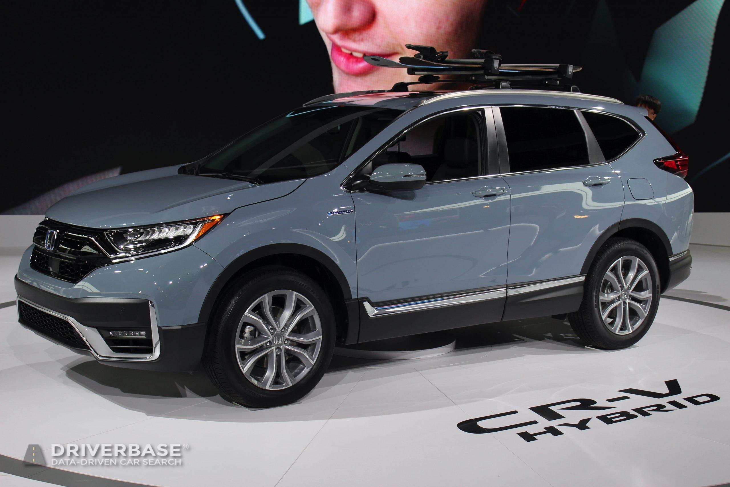 2020 Honda CR-V Hybrid Touring All Wheel Drive at the 2019 Los Angeles Auto Show