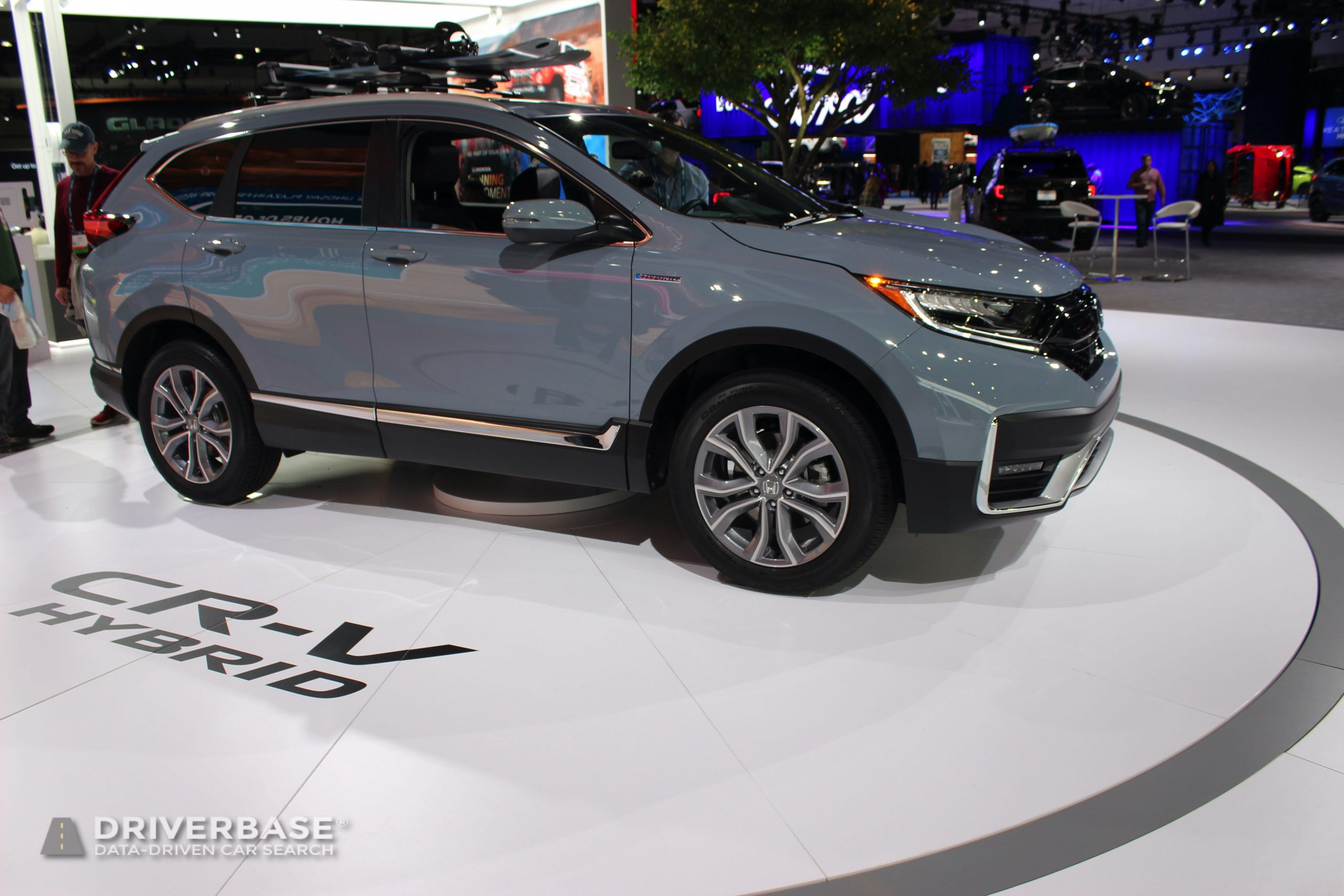 2020 Honda CR-V Hybrid Touring All Wheel Drive at the 2019 Los Angeles Auto Show