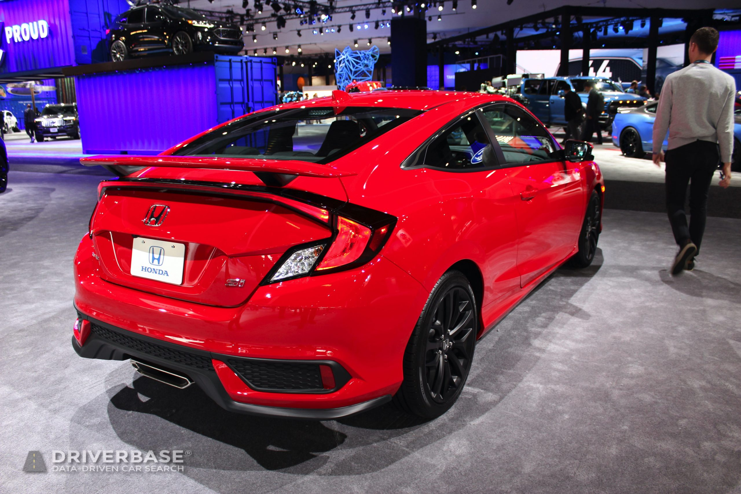 2020 Honda Civic Si at the 2019 Los Angeles Auto Show