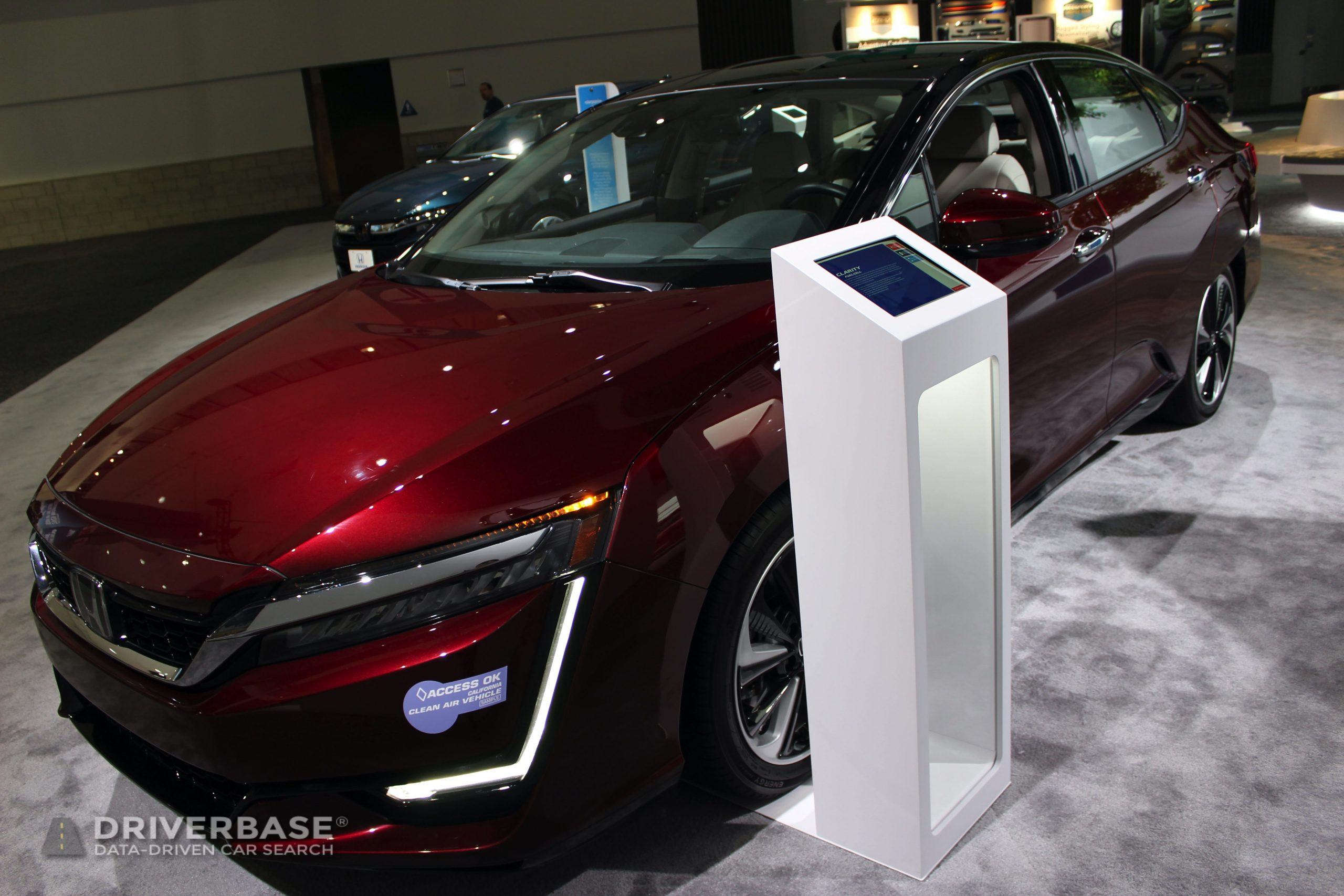 2020 Honda Clarity Fuel Cell at the 2019 Los Angeles Auto Show