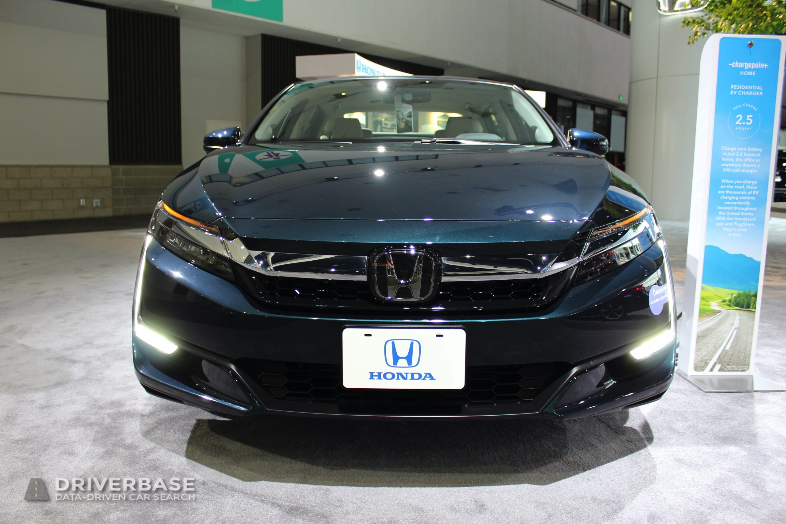 2020 Honda Clarity Touring Plug-In Hybrid at the 2019 Los Angeles Auto Show
