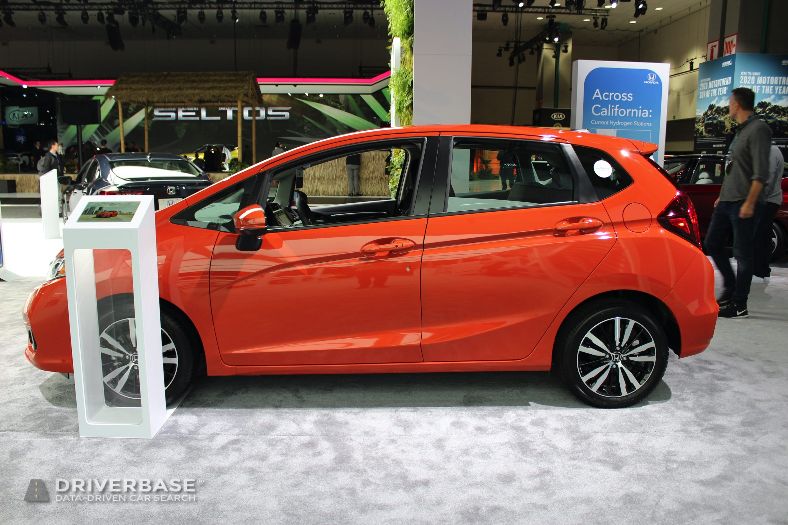 2020 Honda Fit at the 2019 Los Angeles Auto Show