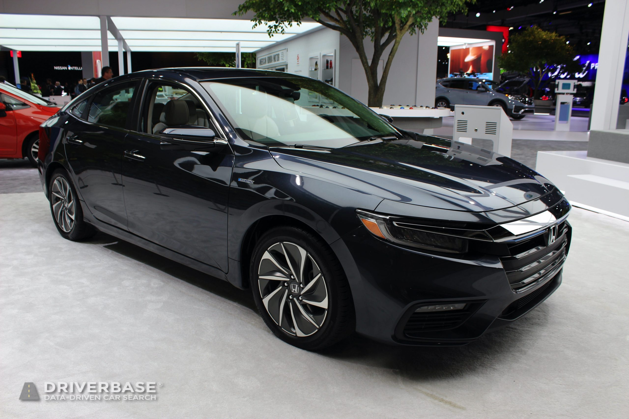 2020 Honda Insight Hybrid at the 2019 Los Angeles Auto Show