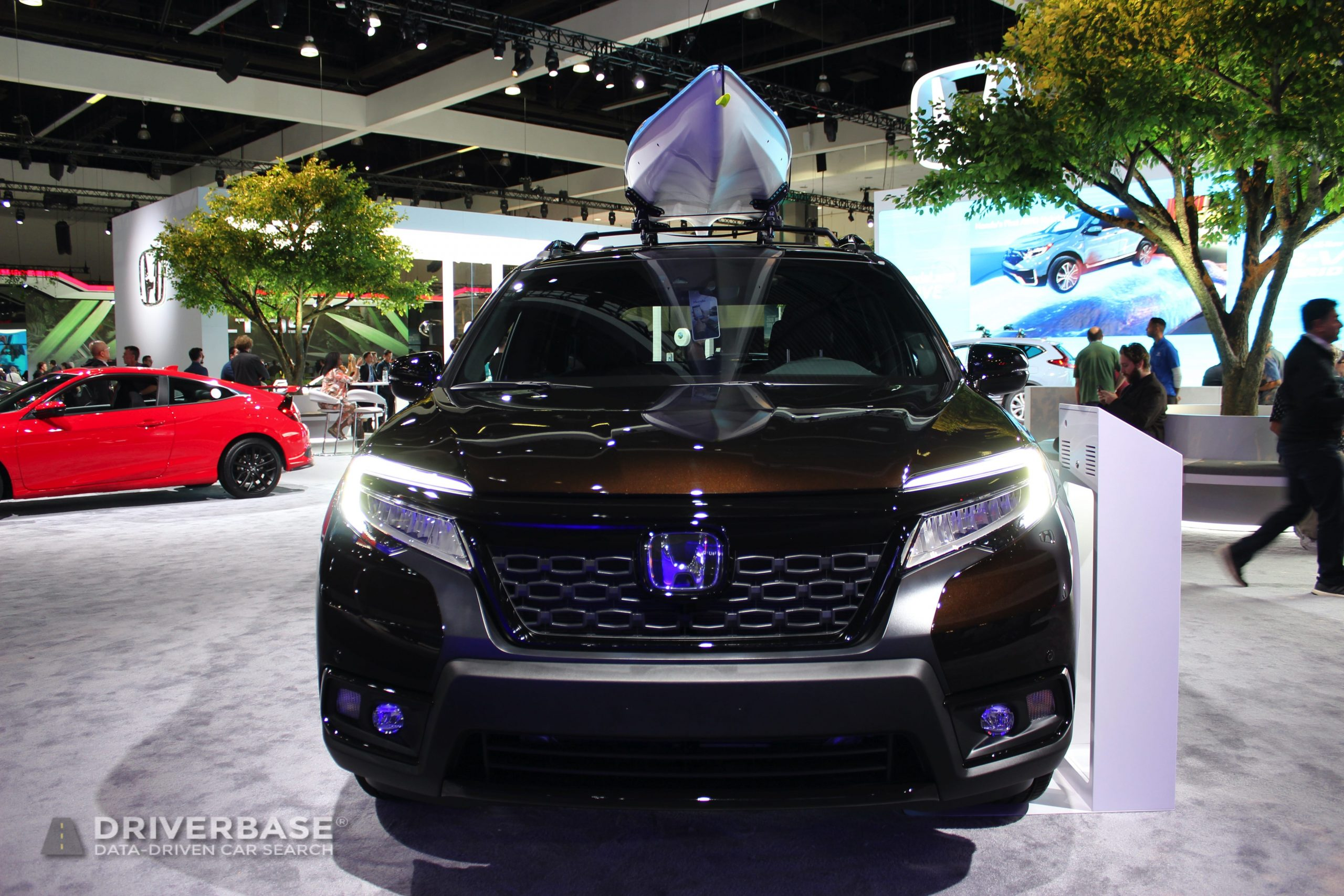2020 Honda Passport Elite All Wheel Drive at the 2019 Los Angeles Auto Show
