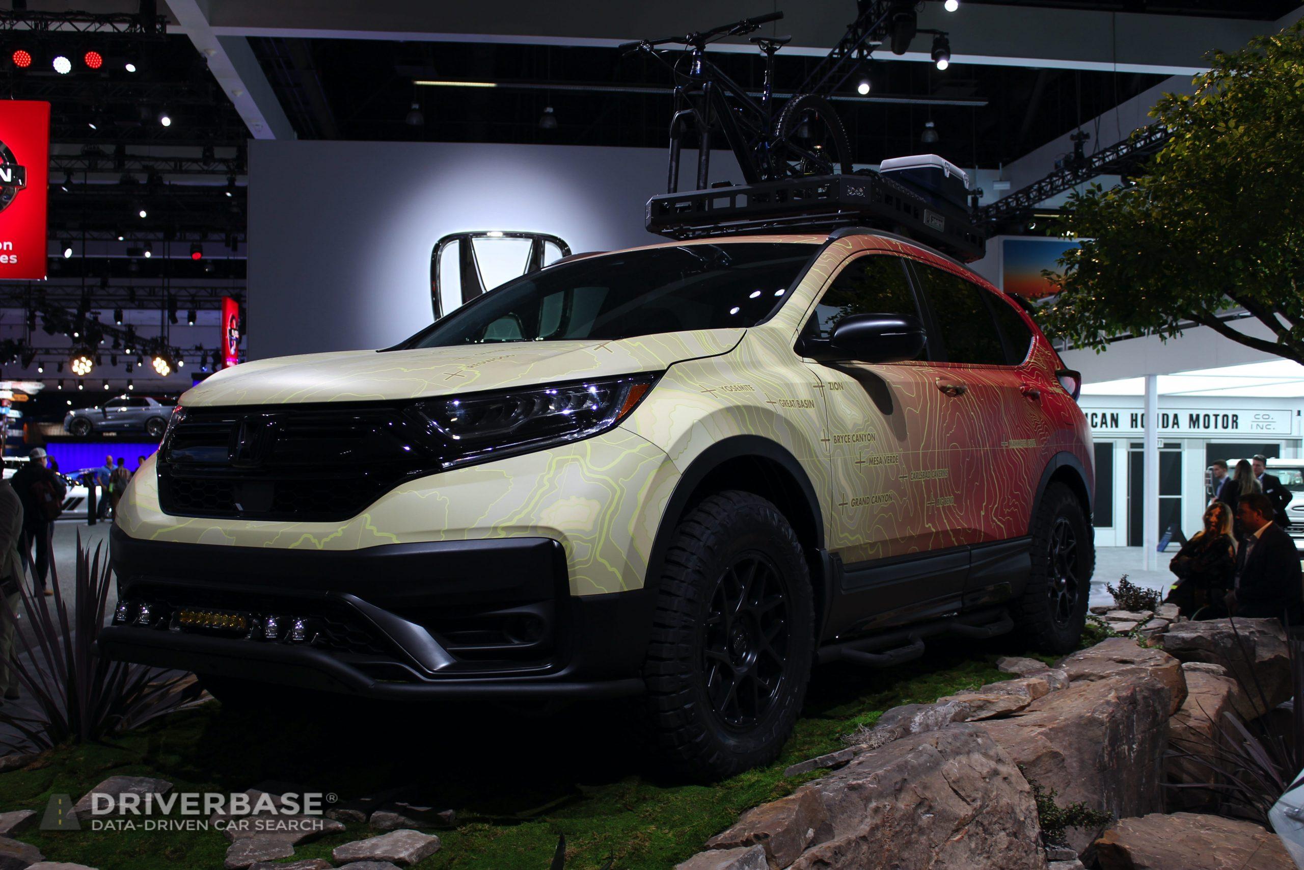 2020 Honda Passport at the 2019 Los Angeles Auto Show