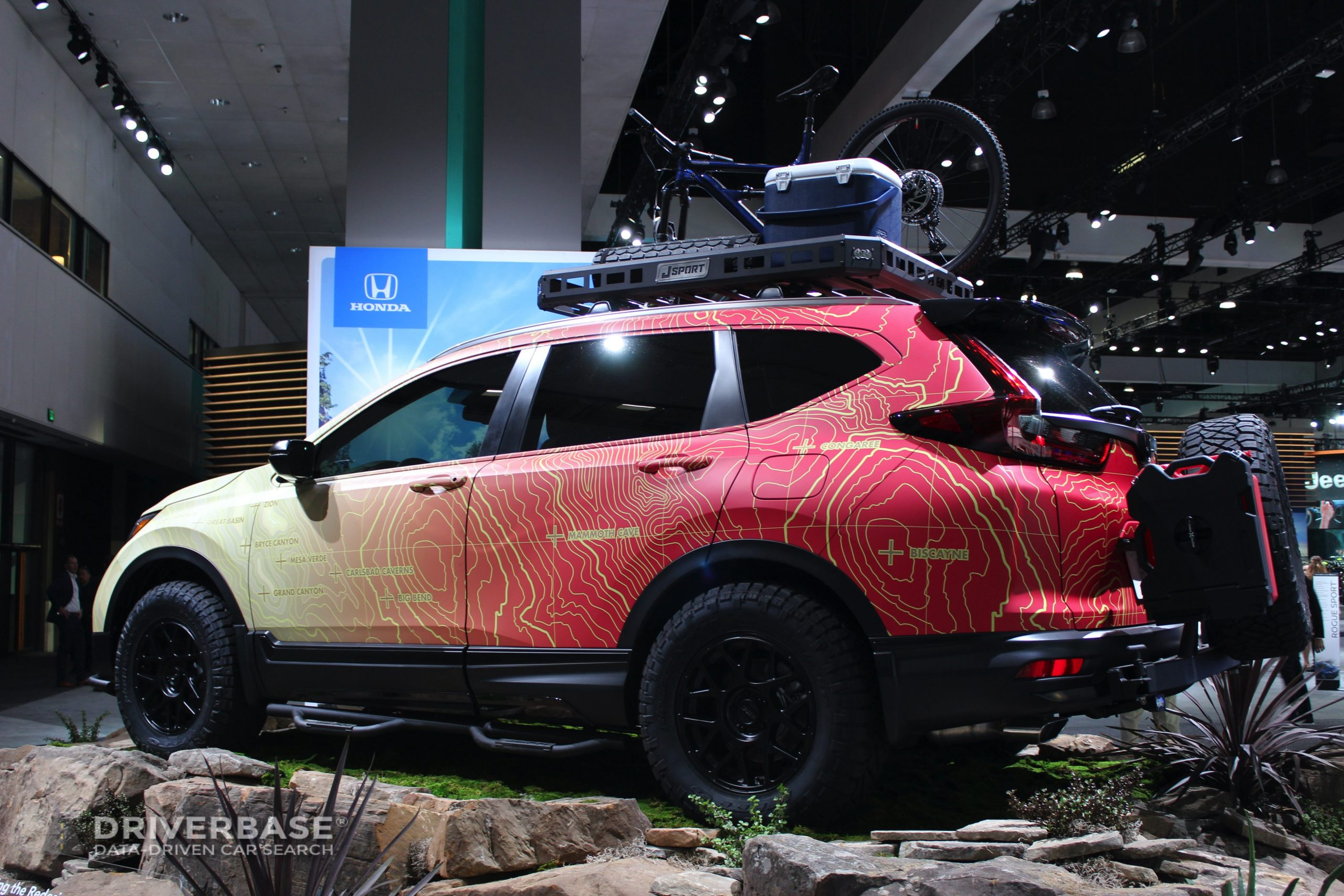 2020 Honda Passport at the 2019 Los Angeles Auto Show
