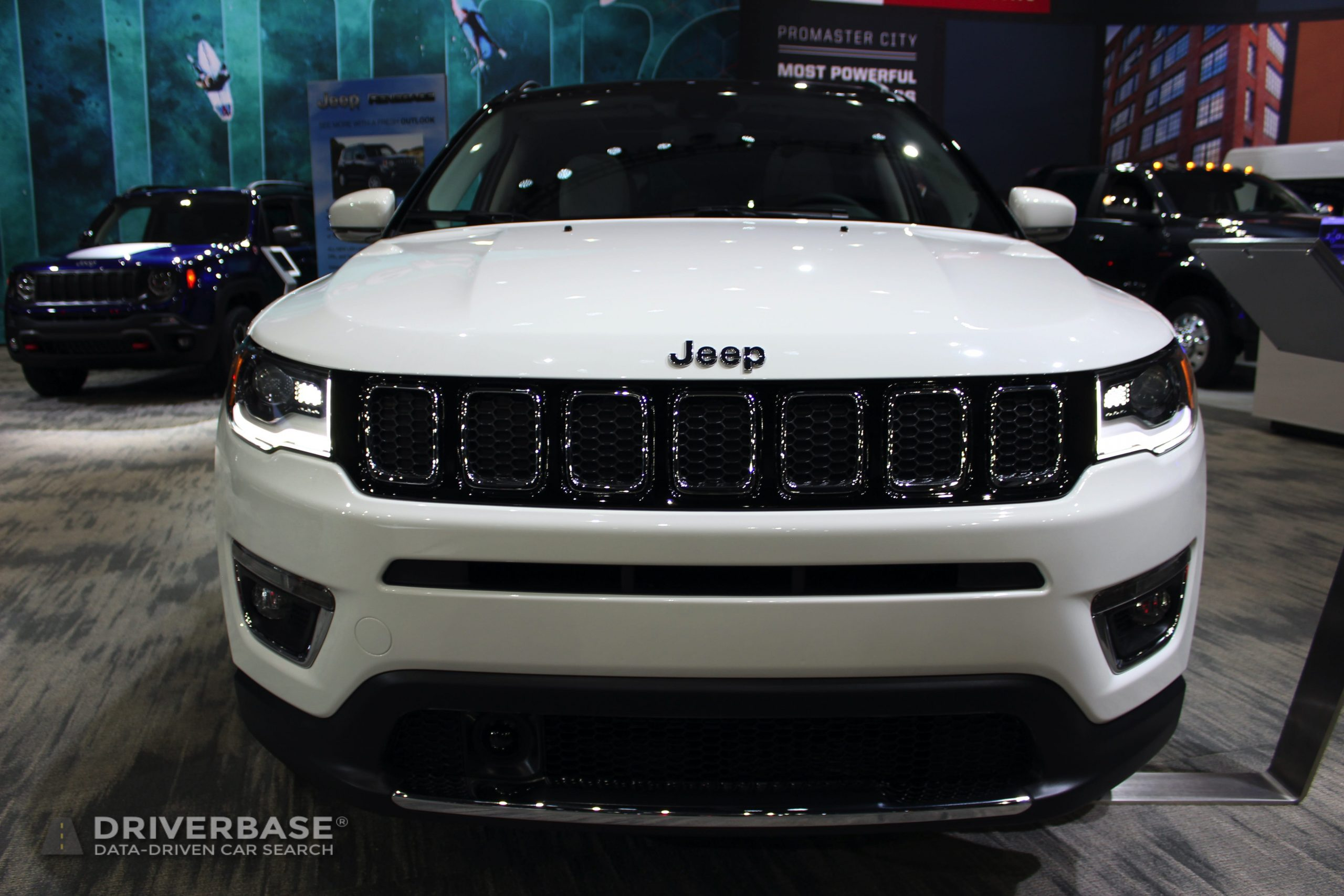 2020 Jeep Compass Limited at the 2019 Los Angeles Auto Show